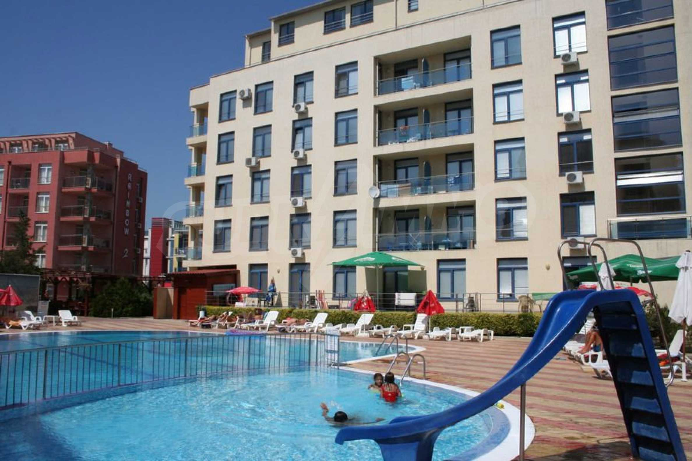 One-bedroom apartment in Rainbow complex in Sunny Beach