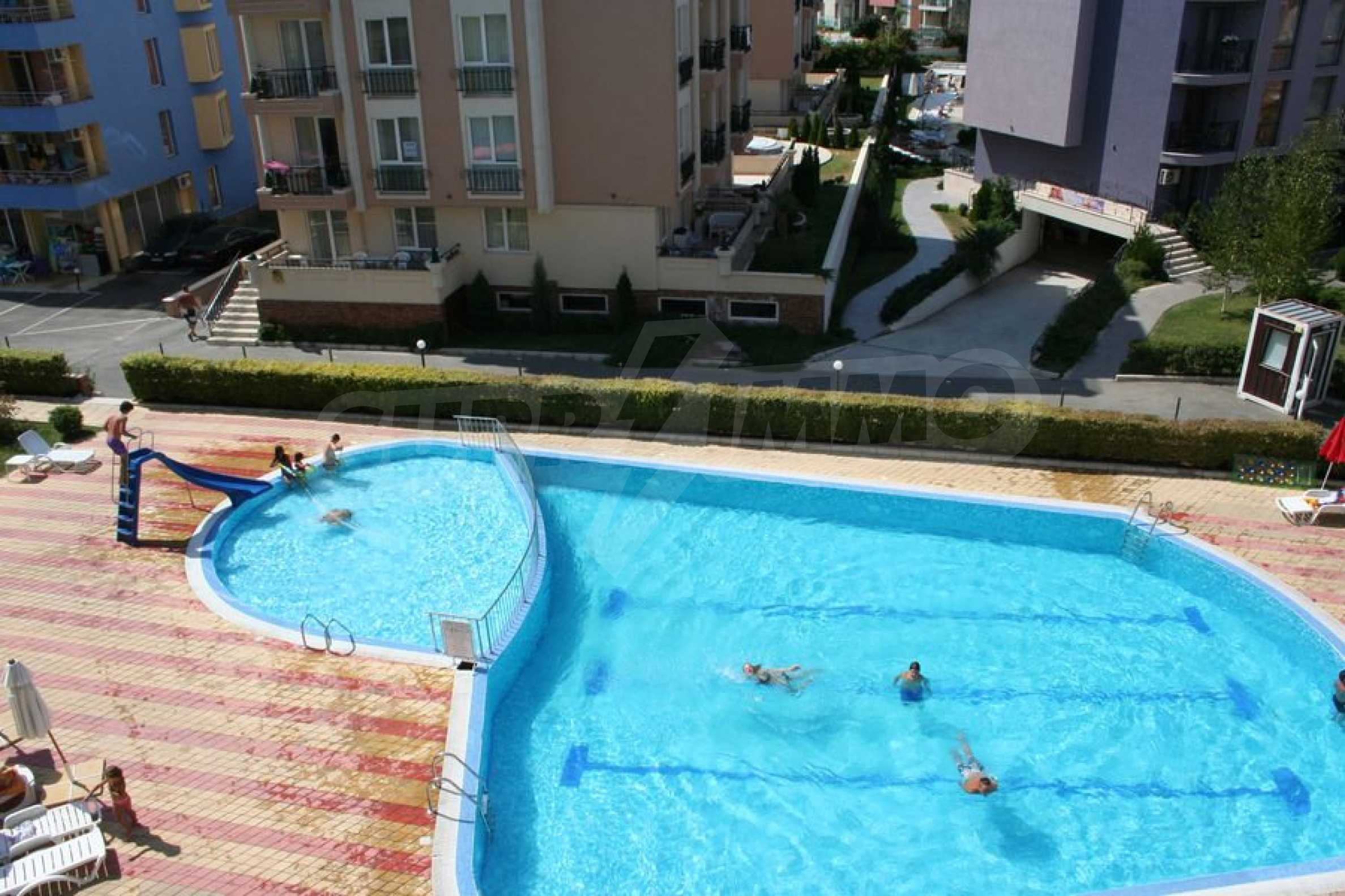 One-bedroom apartment in Rainbow complex in Sunny Beach 2
