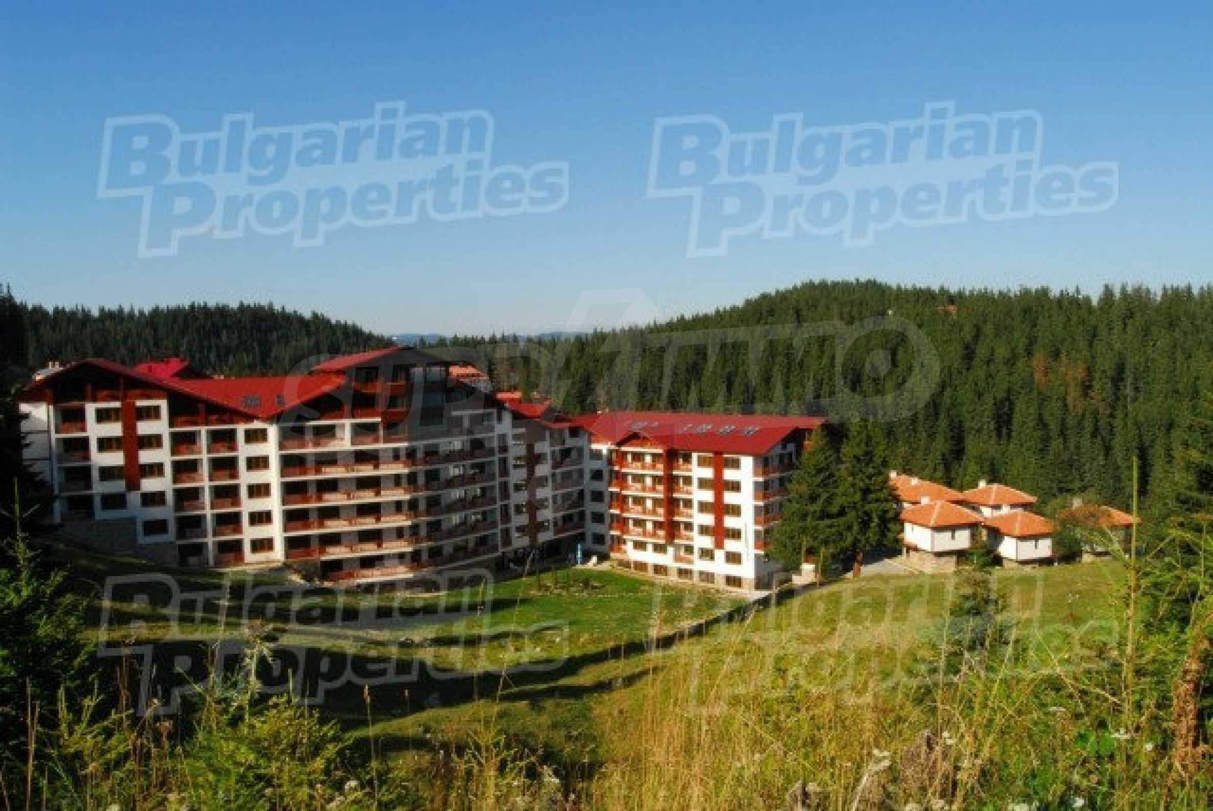 Fully furnished studio in Forest Nook in ski resort Pamporovo 1