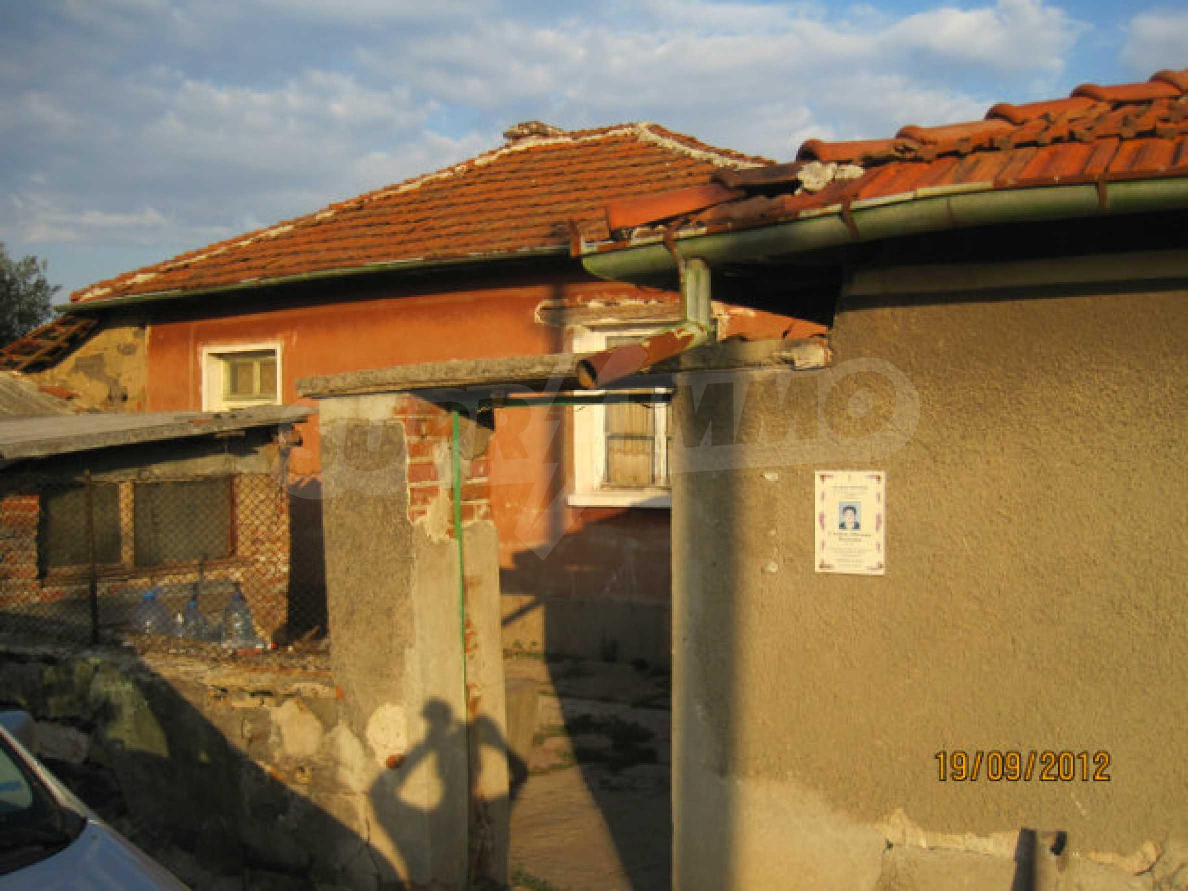 Einfamilienhaus mit Hof zum Verkauf in einem ruhigen Dorf in der Nähe von Dimitrovgrad