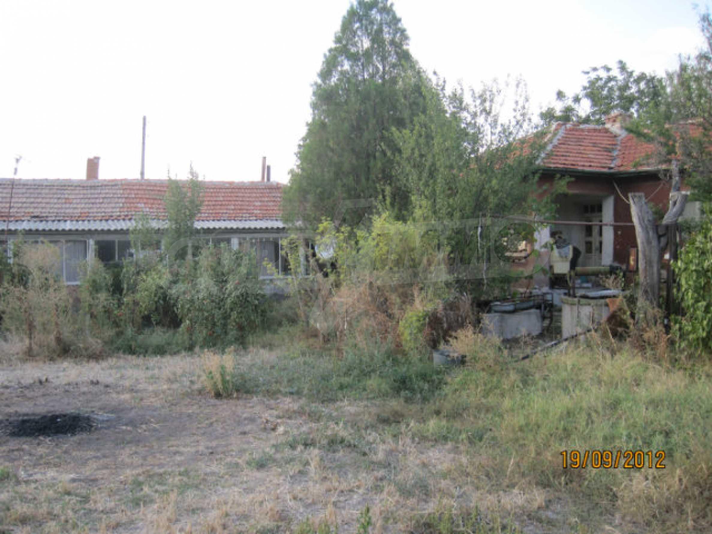 Einfamilienhaus mit Hof zum Verkauf in einem ruhigen Dorf in der Nähe von Dimitrovgrad 1