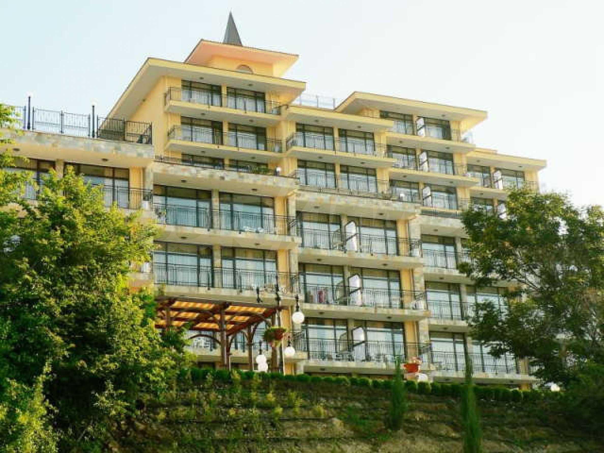 Ein-Zimmer-Wohnung in Caesar Palace Komplex in Sveti Vlas