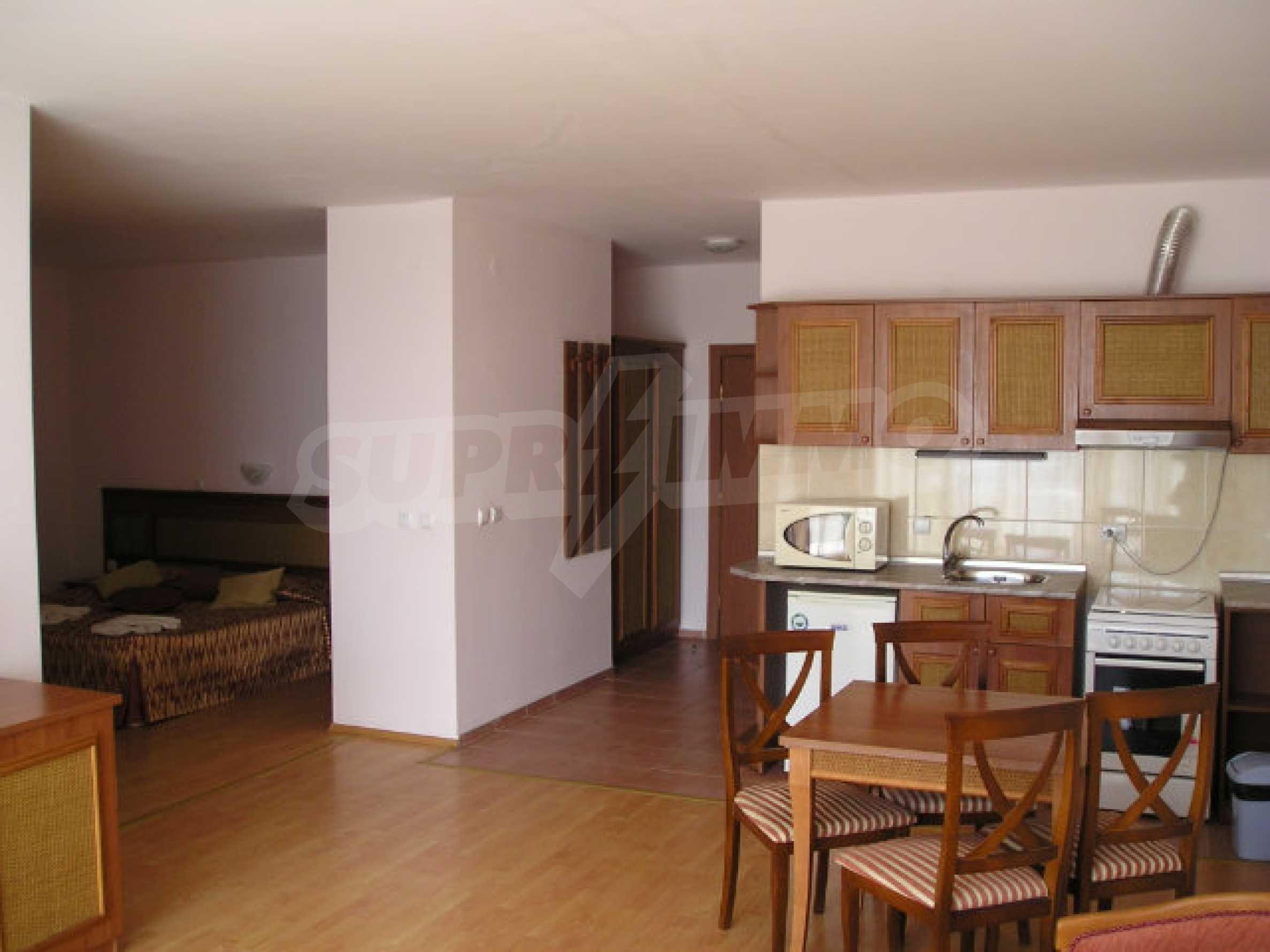 Ein-Zimmer-Wohnung in Caesar Palace Komplex in Sveti Vlas 17