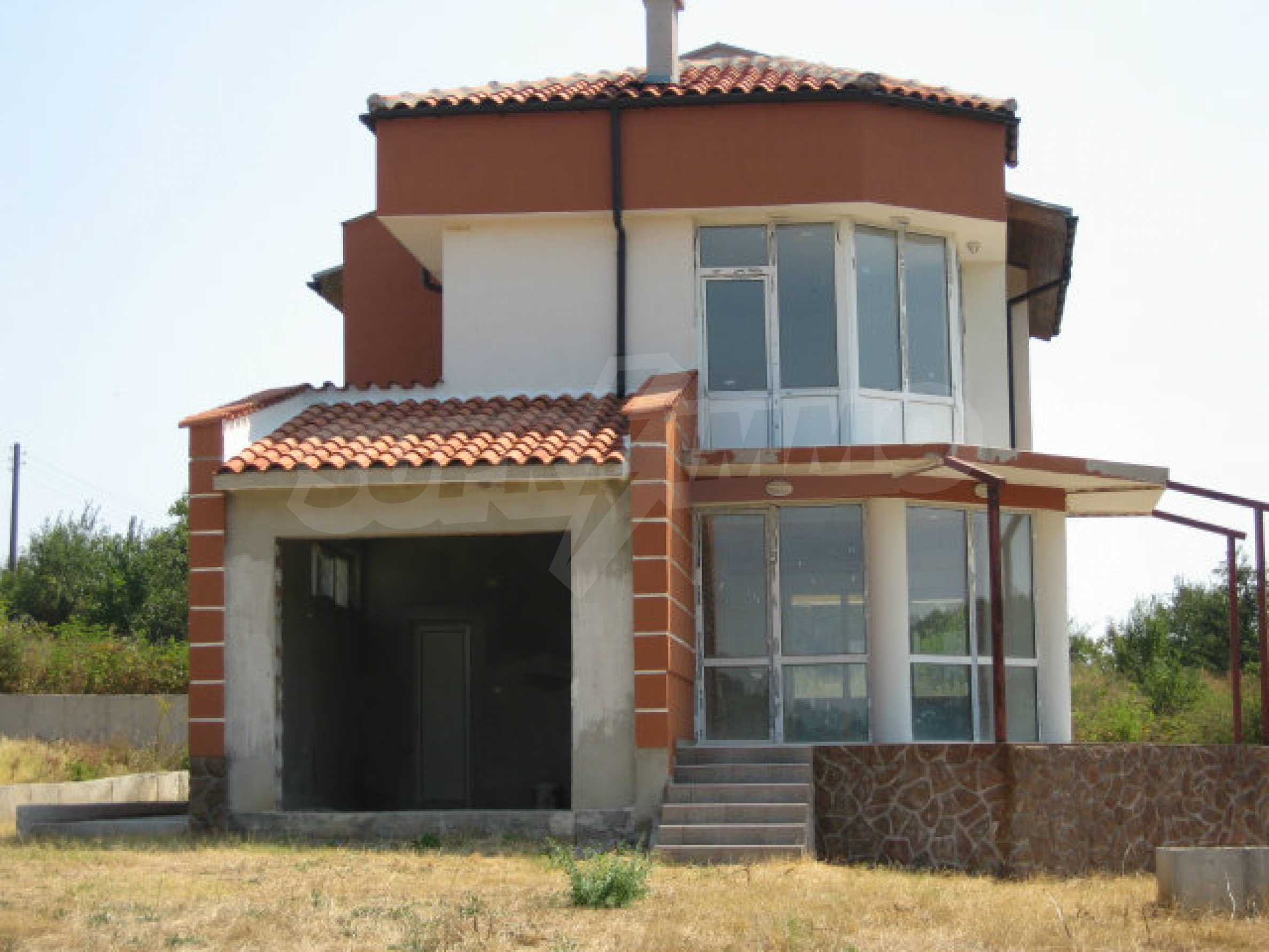 Beautiful new rural house with picturesque view to the Sakar mountains near Topolovgrad