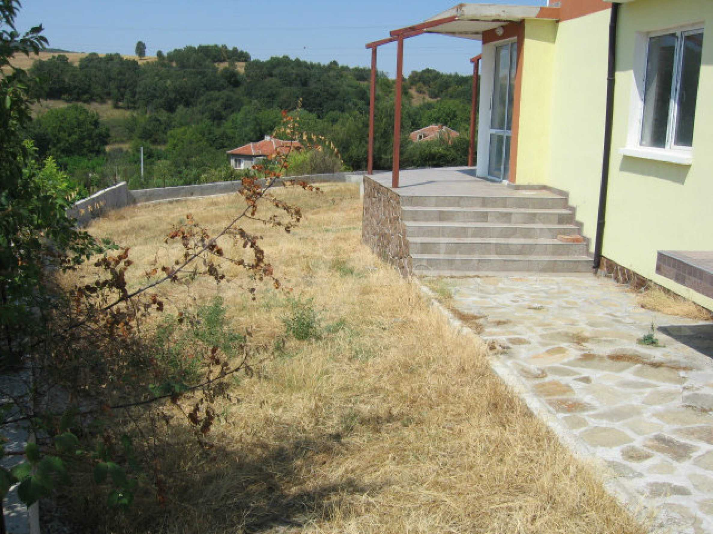 Beautiful new rural house with picturesque view to the Sakar mountains near Topolovgrad 14