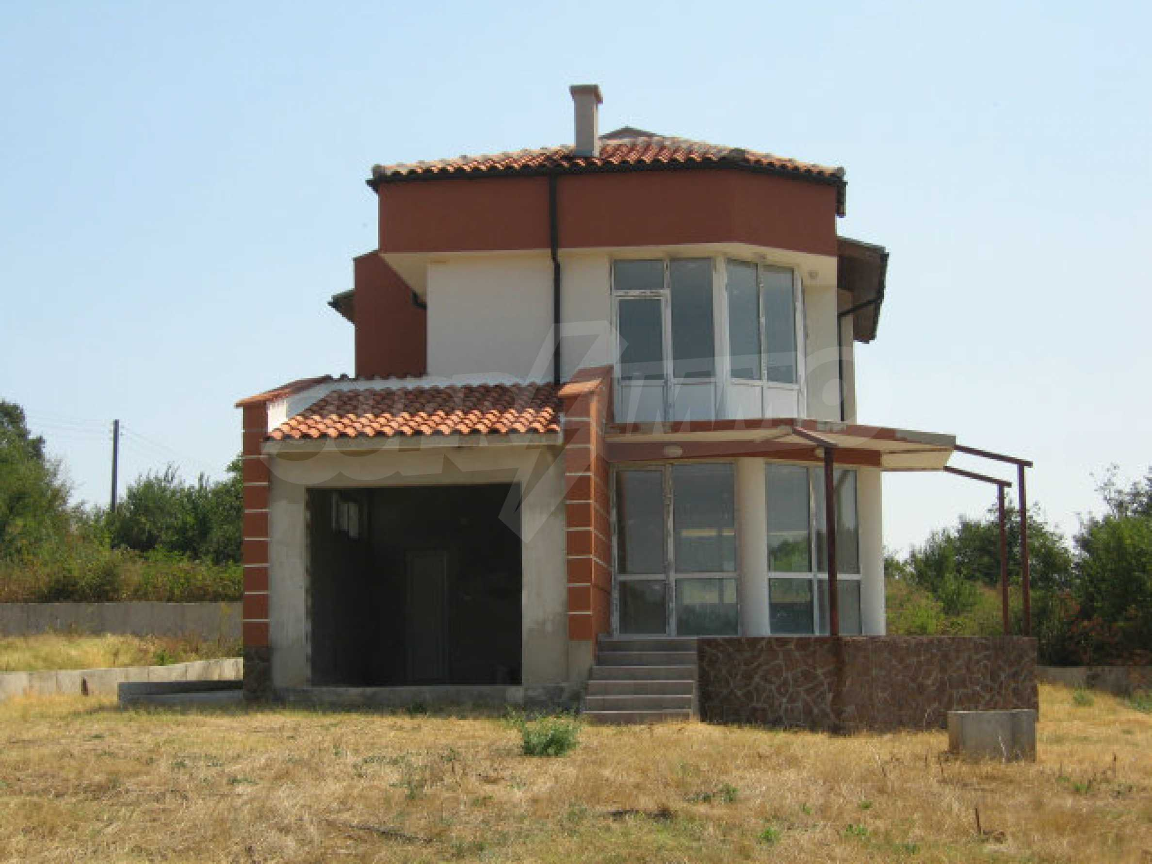 Beautiful new rural house with picturesque view to the Sakar mountains near Topolovgrad 1