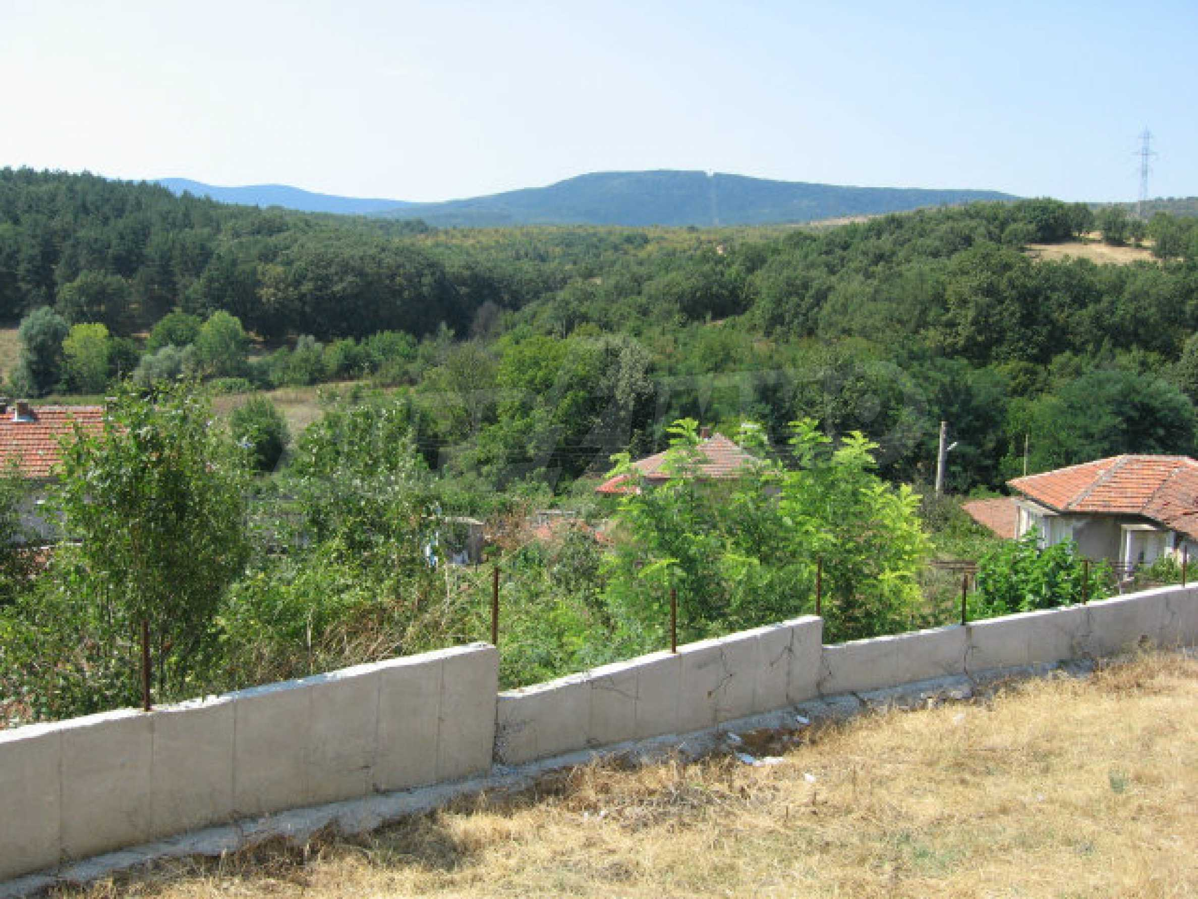 Beautiful new rural house with picturesque view to the Sakar mountains near Topolovgrad 22
