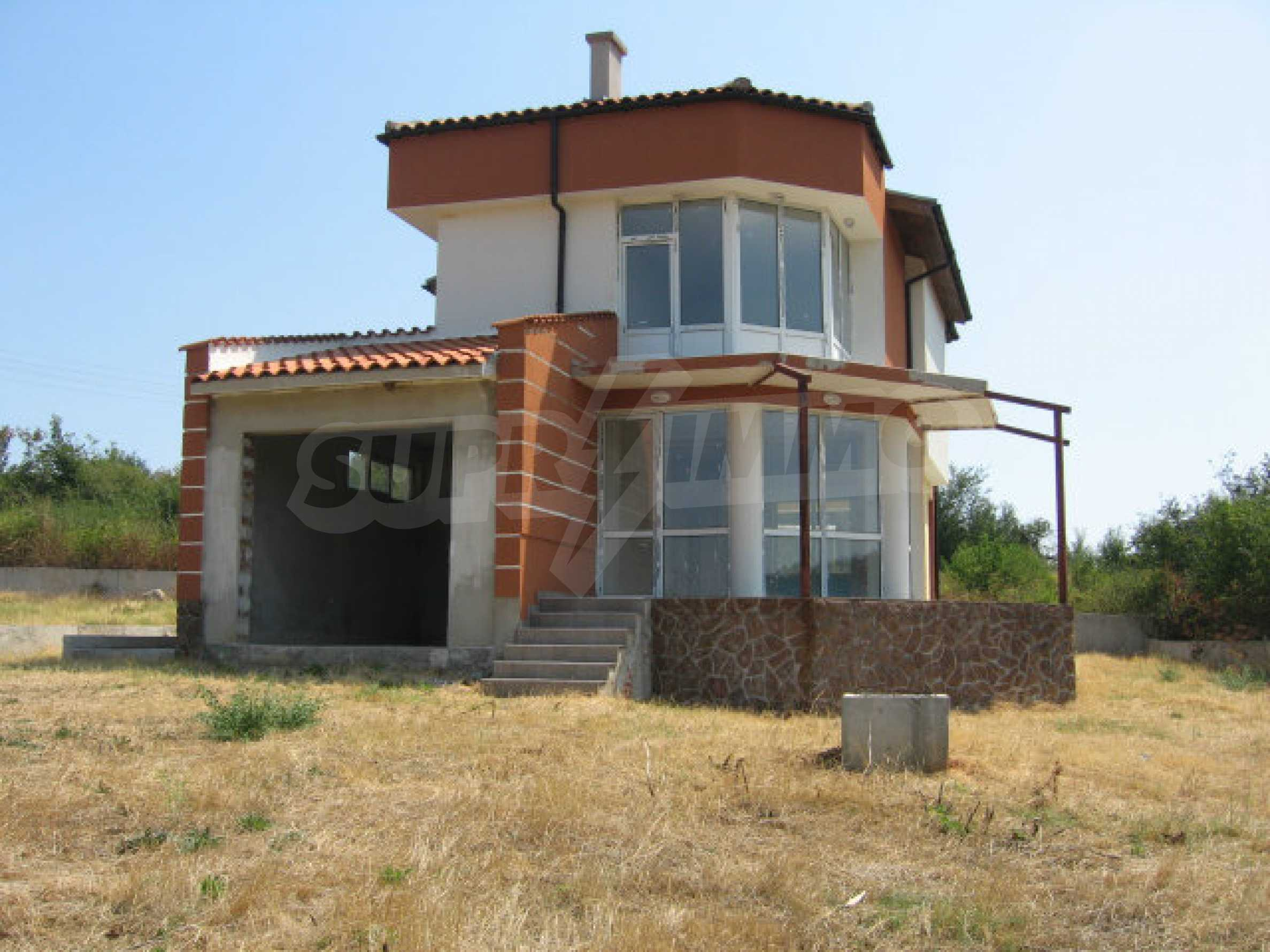 Beautiful new rural house with picturesque view to the Sakar mountains near Topolovgrad 2