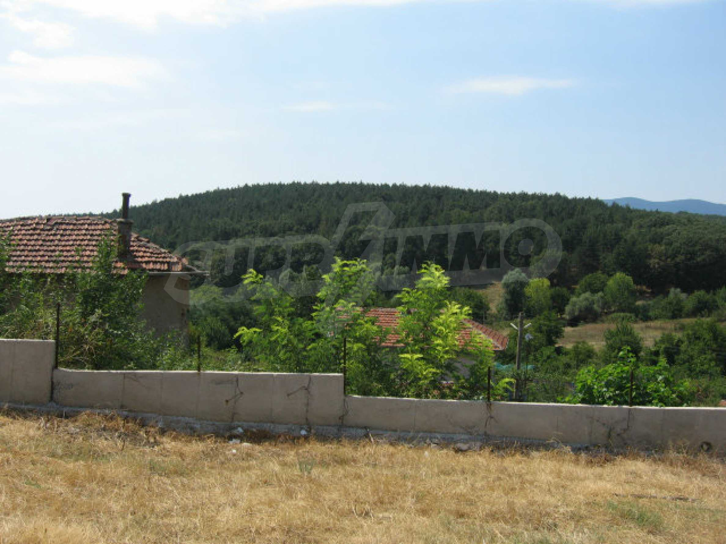 Beautiful new rural house with picturesque view to the Sakar mountains near Topolovgrad 33