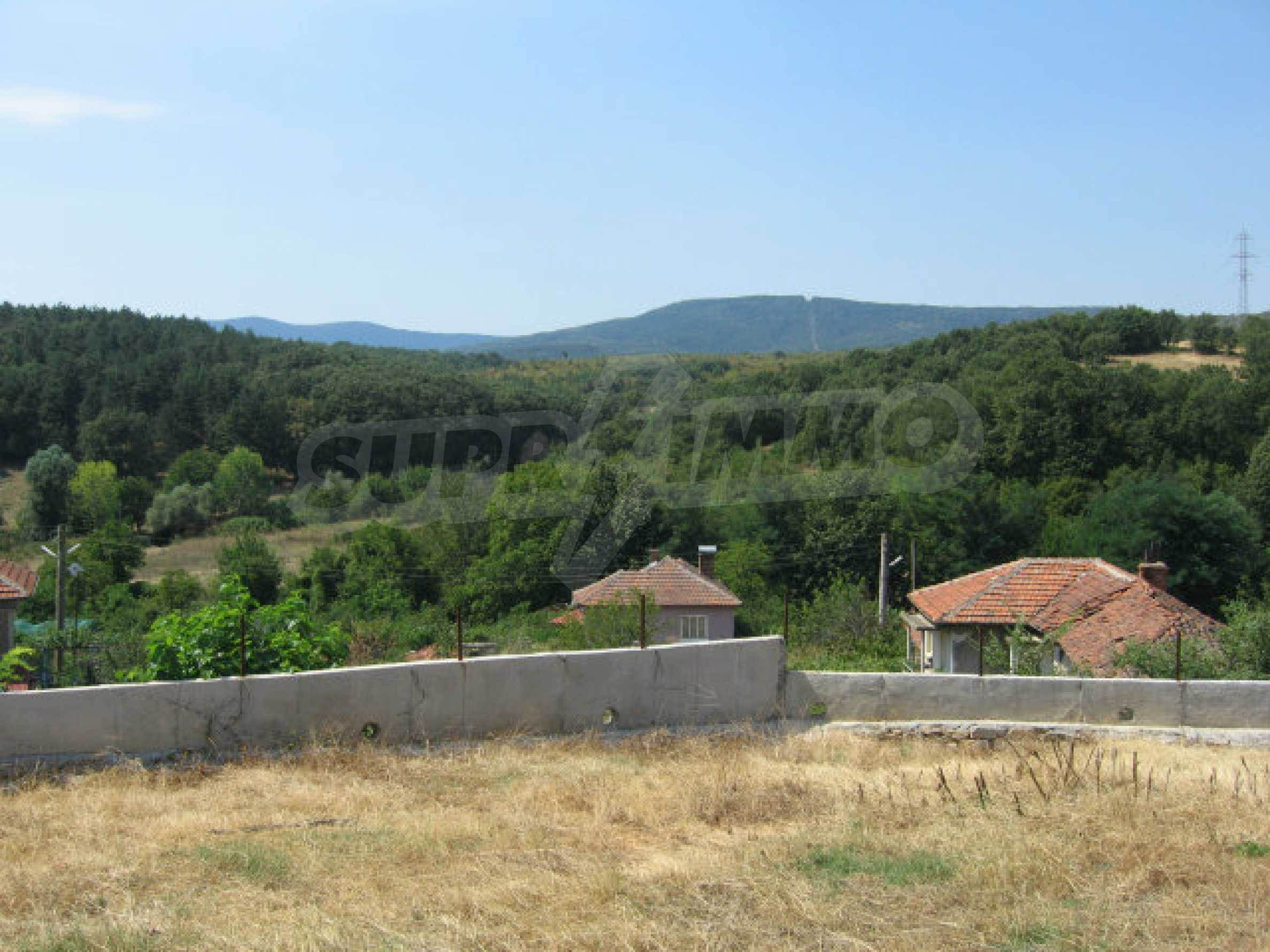 Beautiful new rural house with picturesque view to the Sakar mountains near Topolovgrad 34