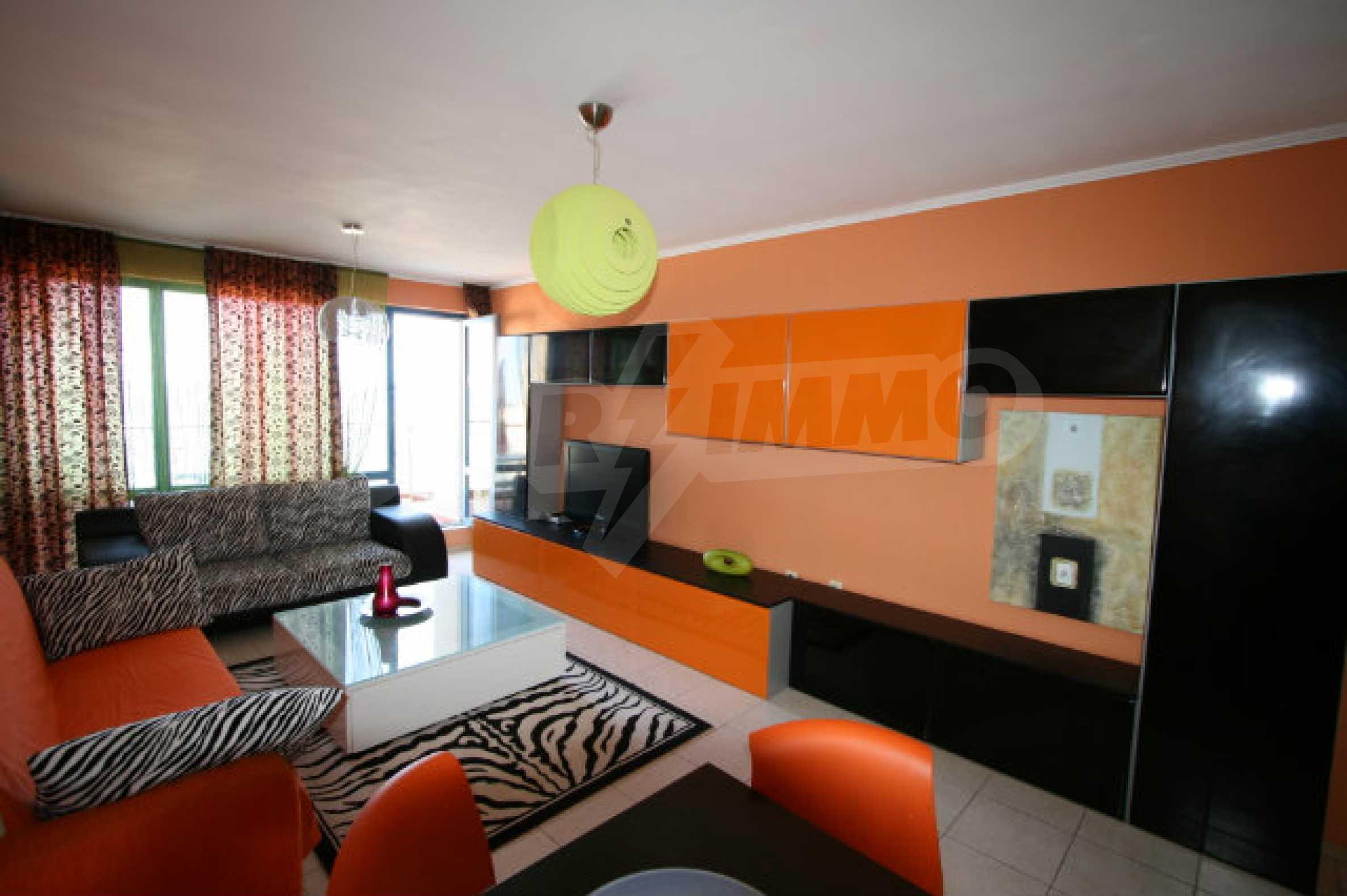 Luxuswohnung mit zwei Schlafzimmern nahe dem Strand in Sunny Beach 13