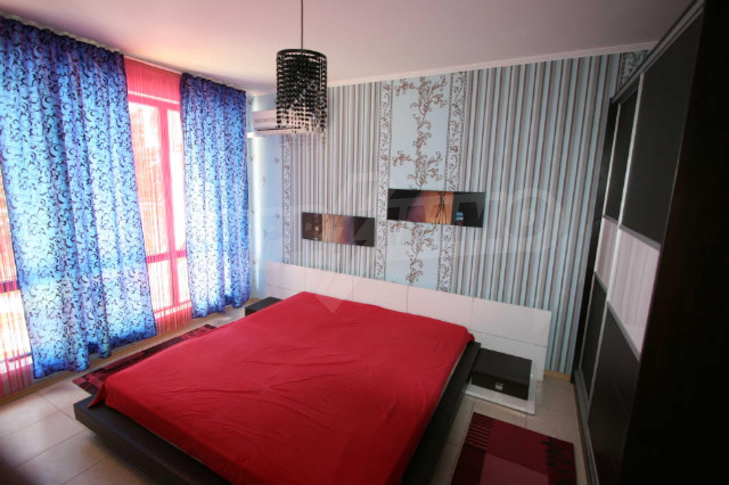 Luxuswohnung mit zwei Schlafzimmern nahe dem Strand in Sunny Beach 14