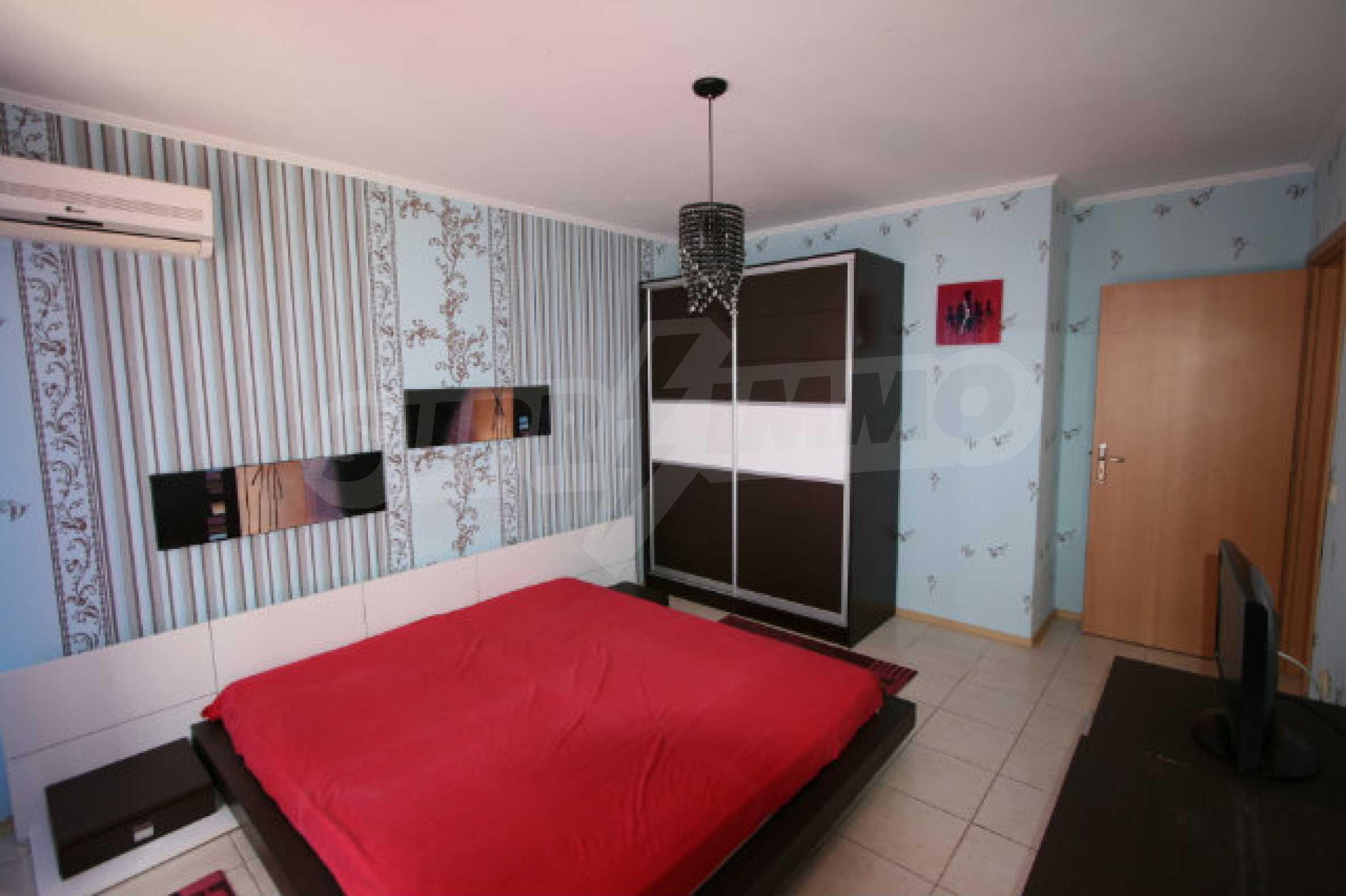 Luxuswohnung mit zwei Schlafzimmern nahe dem Strand in Sunny Beach 15
