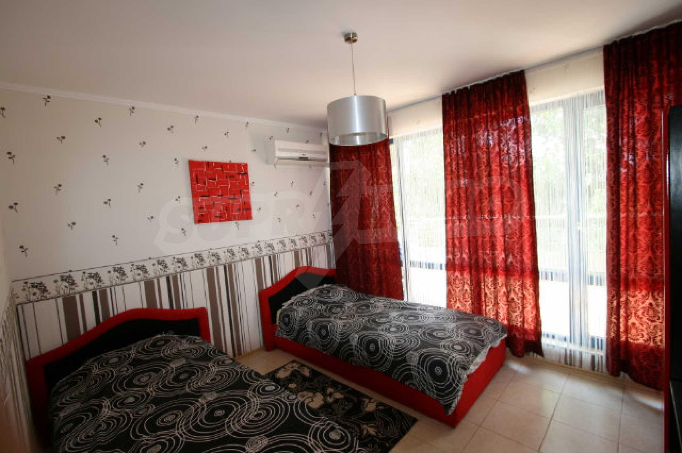 Luxuswohnung mit zwei Schlafzimmern nahe dem Strand in Sunny Beach 17