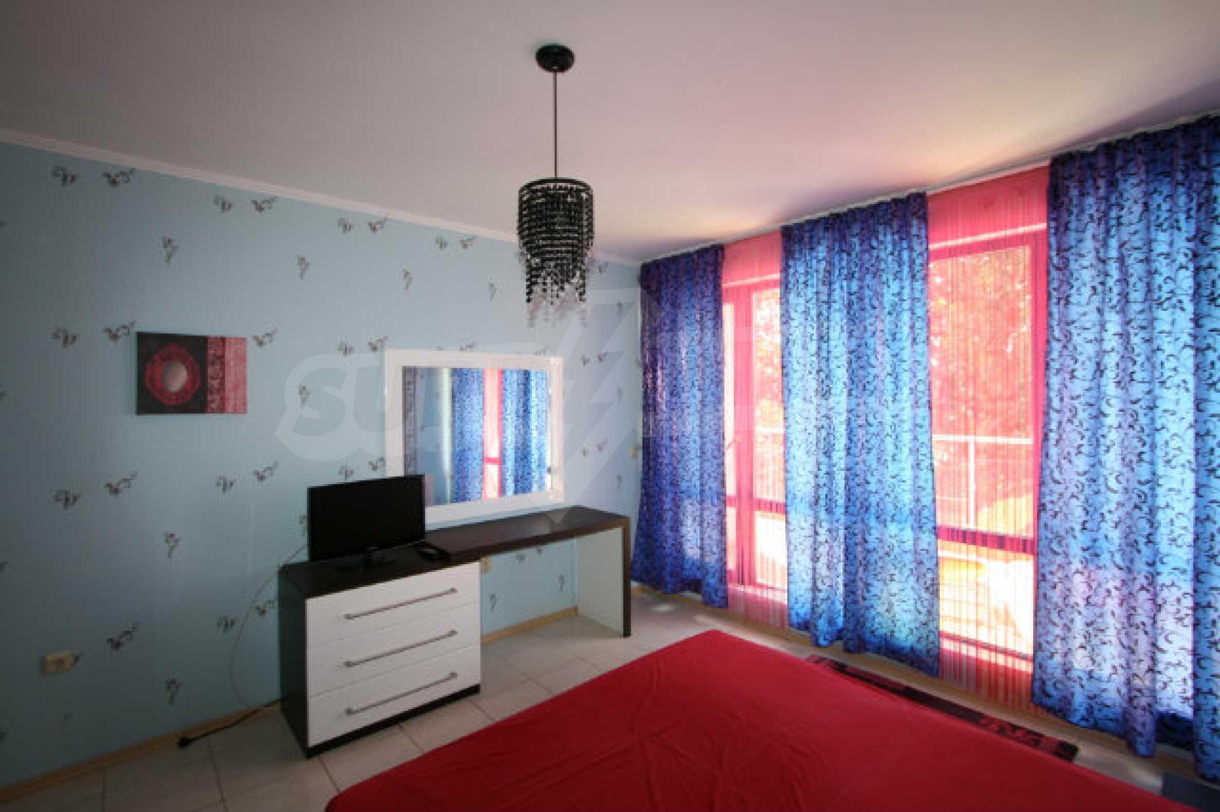 Luxuswohnung mit zwei Schlafzimmern nahe dem Strand in Sunny Beach 20