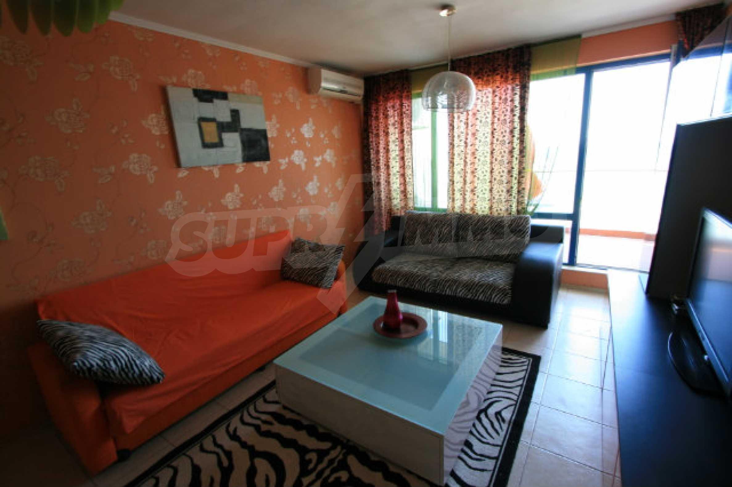 Luxuswohnung mit zwei Schlafzimmern nahe dem Strand in Sunny Beach 7