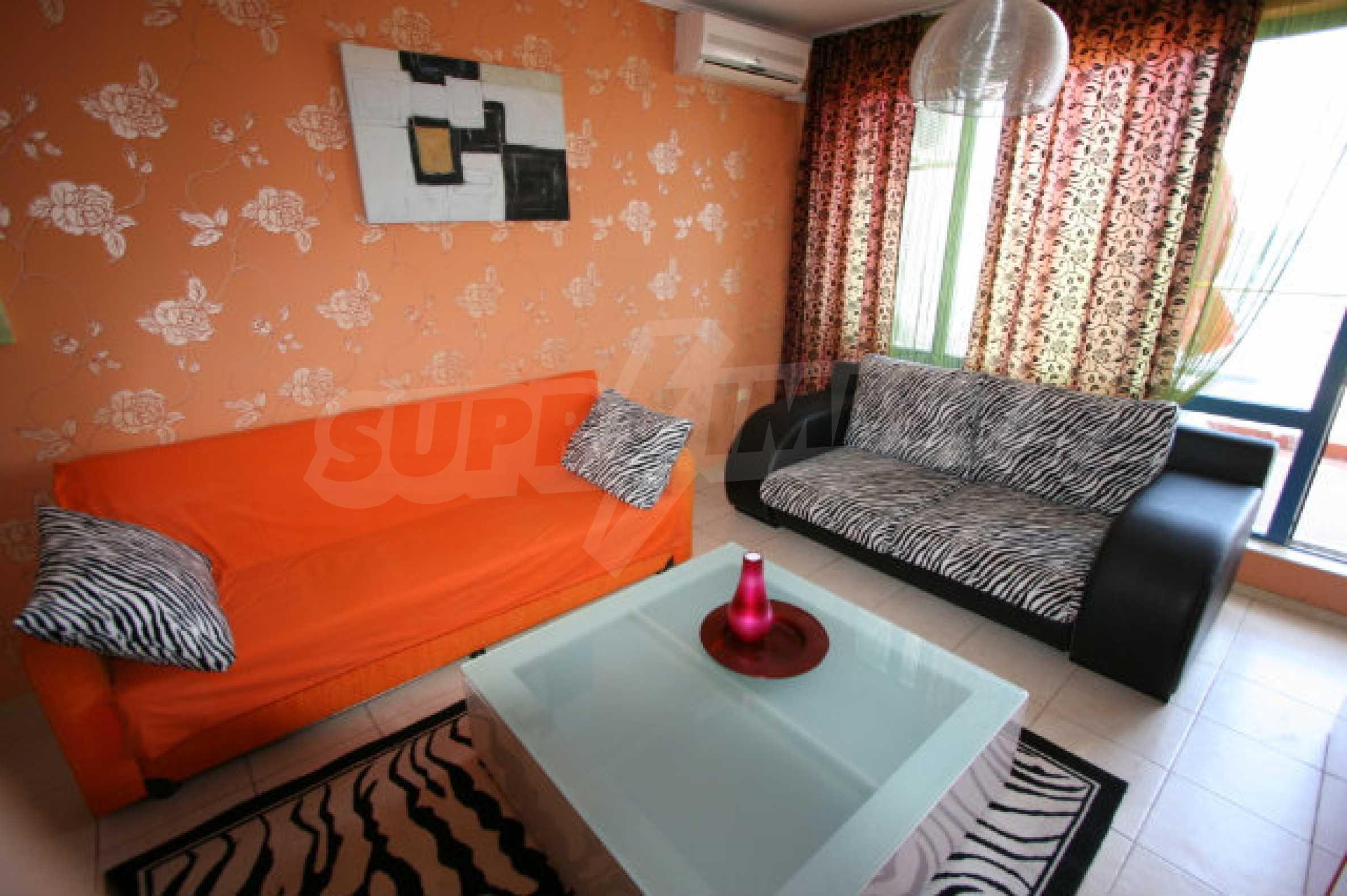 Luxuswohnung mit zwei Schlafzimmern nahe dem Strand in Sunny Beach 8
