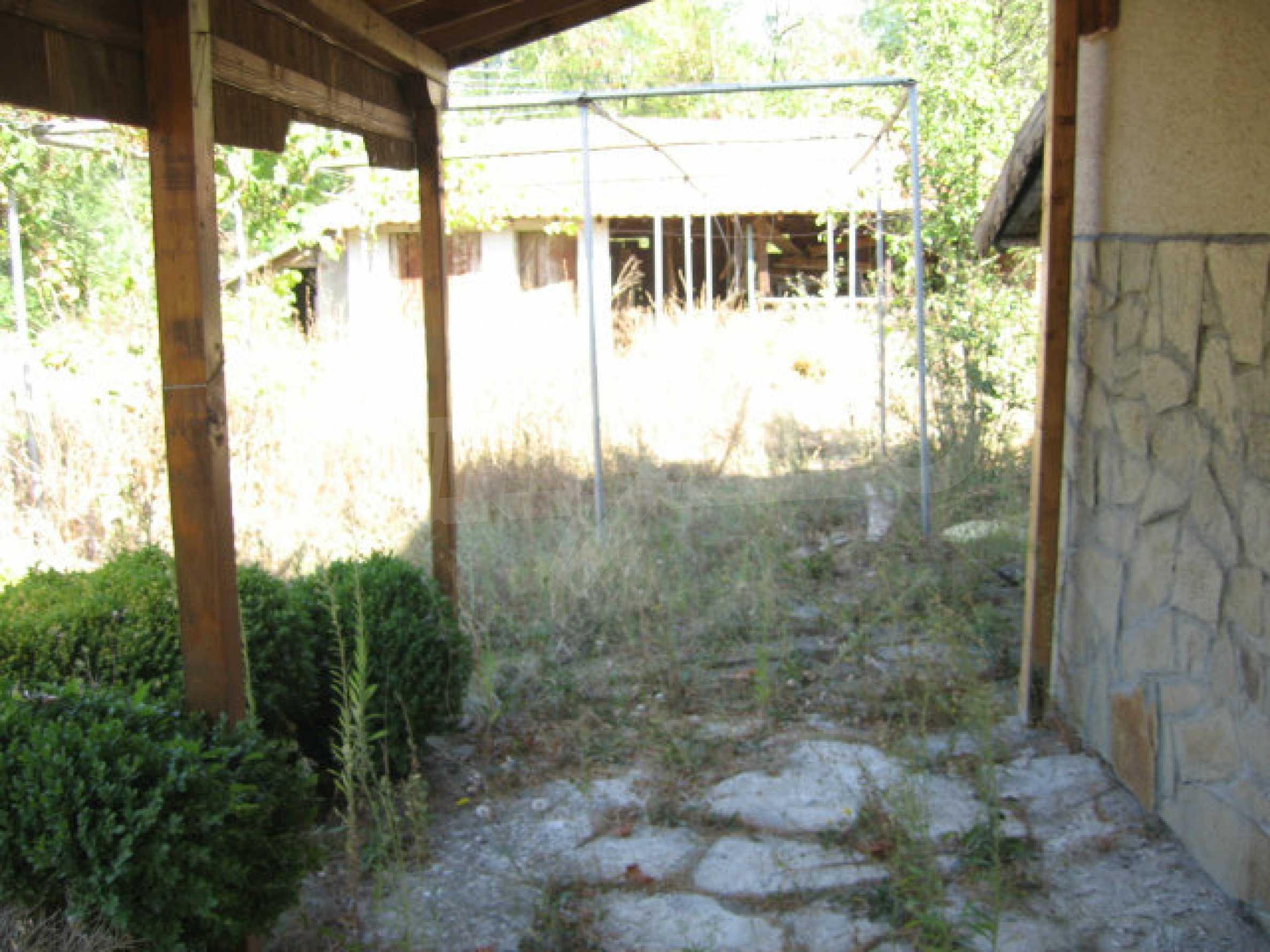 Renovated two-storey house with garden near Elhovo 35
