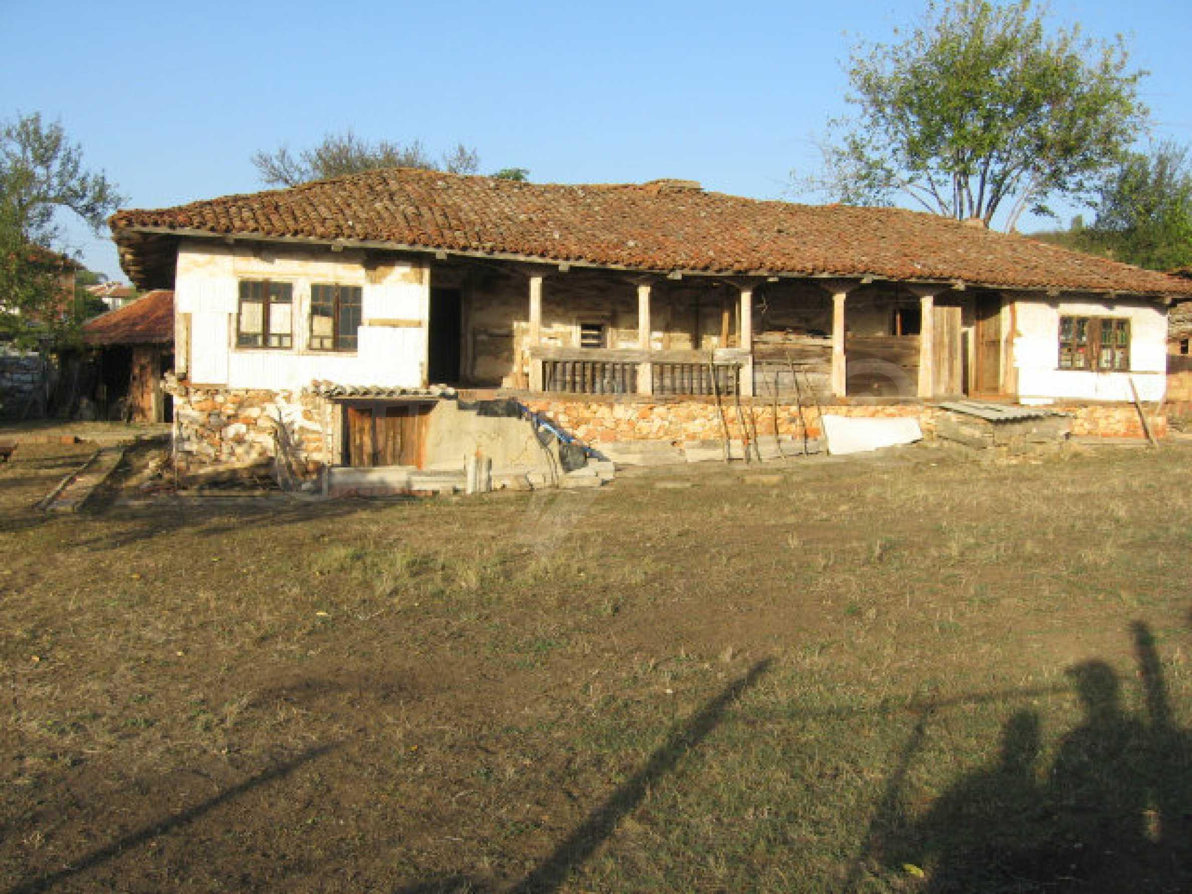 Authentisches 150 Jahre altes Haus in der Nähe von Elhovo und Tundzha River 1