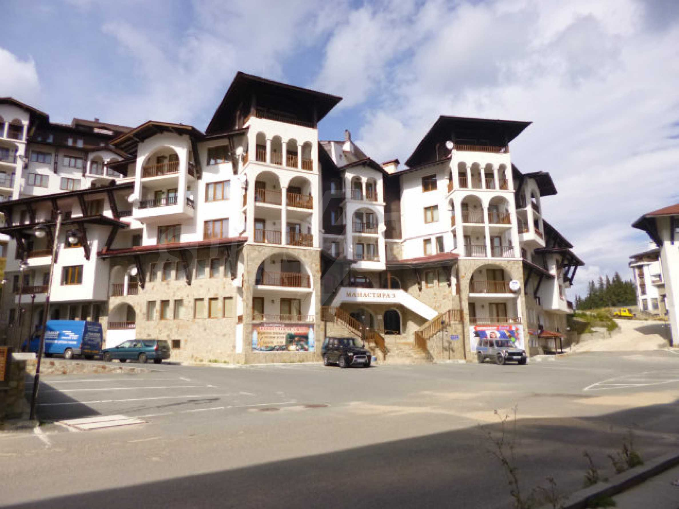 Cozy two-bedroom apartment in apart-hotel Monastery 3 in Pamporovo 21