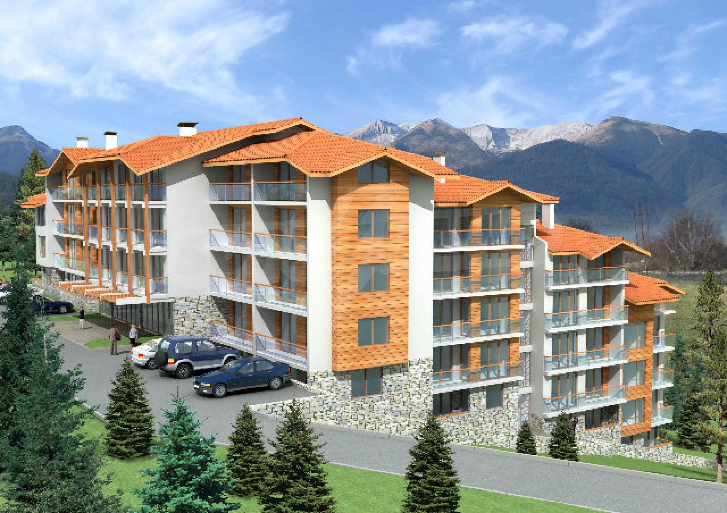 Geregeltes Grundstück mit Investitionsprojekt für den Bau eines Aparthotels in Bansko 3