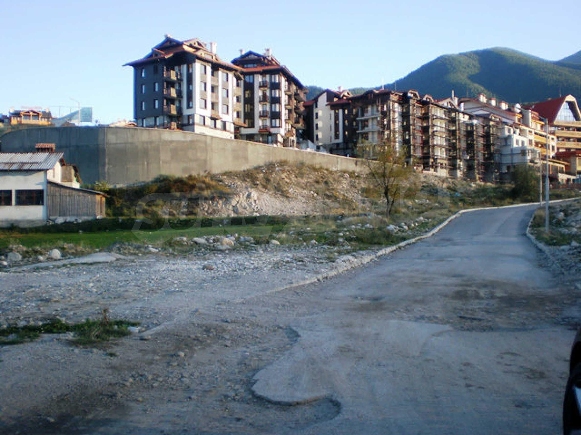 Geregeltes Grundstück mit Investitionsprojekt für den Bau eines Aparthotels in Bansko 6