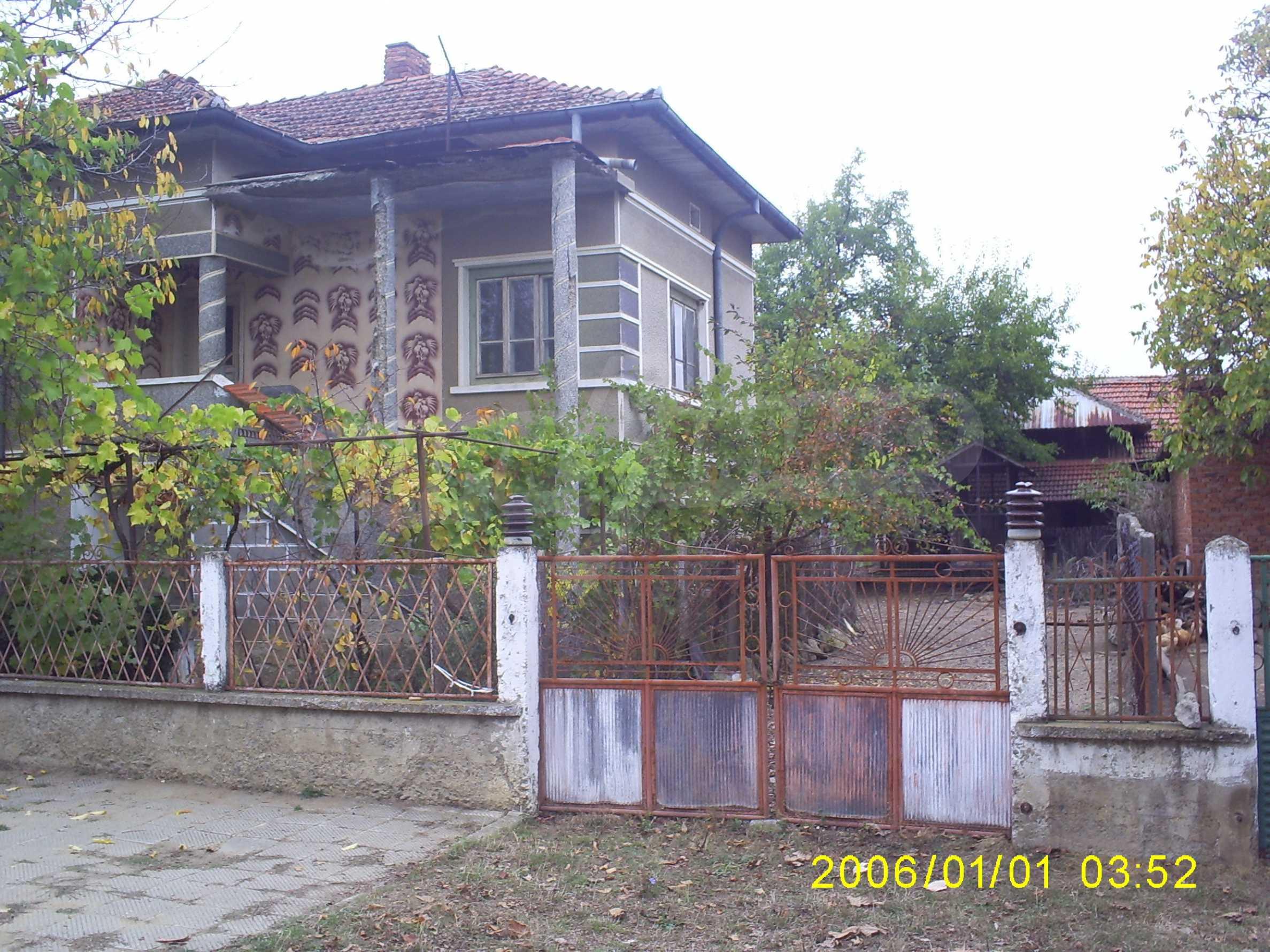 Ein solides zweistöckiges Haus mit einem Garten zum Schnäppchenpreis im Dorf Vidin 7