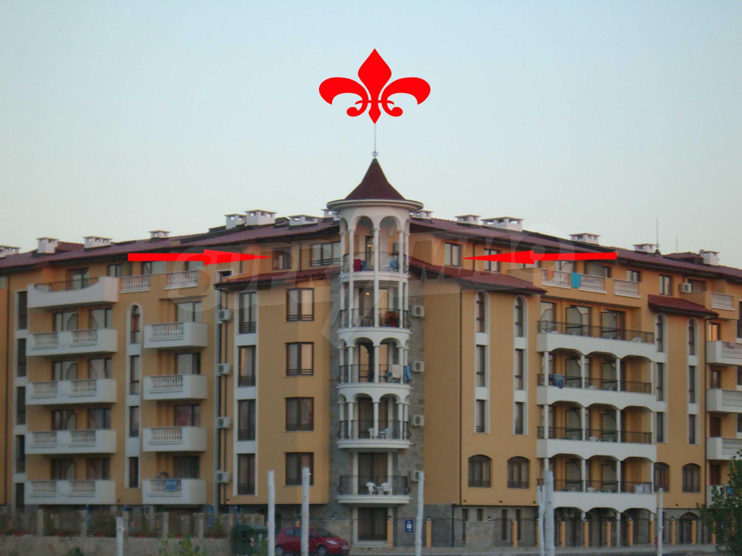 Apartment mit 2 Schlafzimmern im Royal Sun-Komplex in Sonnenstrand 2