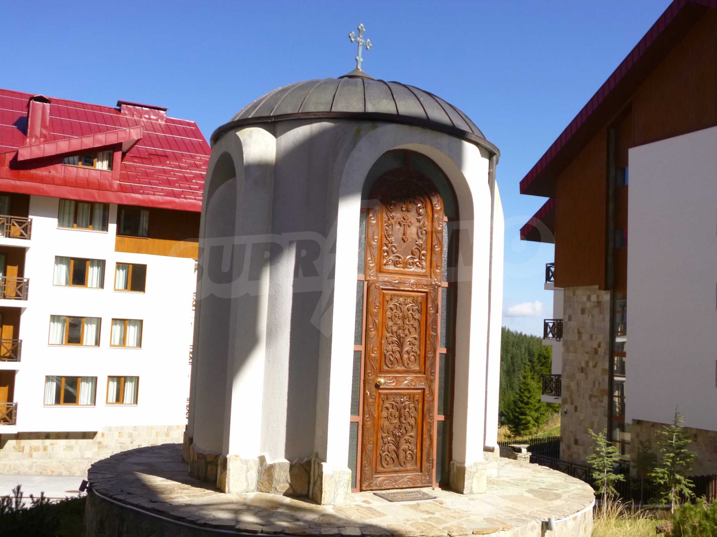 Elegant fully equipped and furnished 1-bedroom apartment in the gated complex Lucky Pamporovo 12