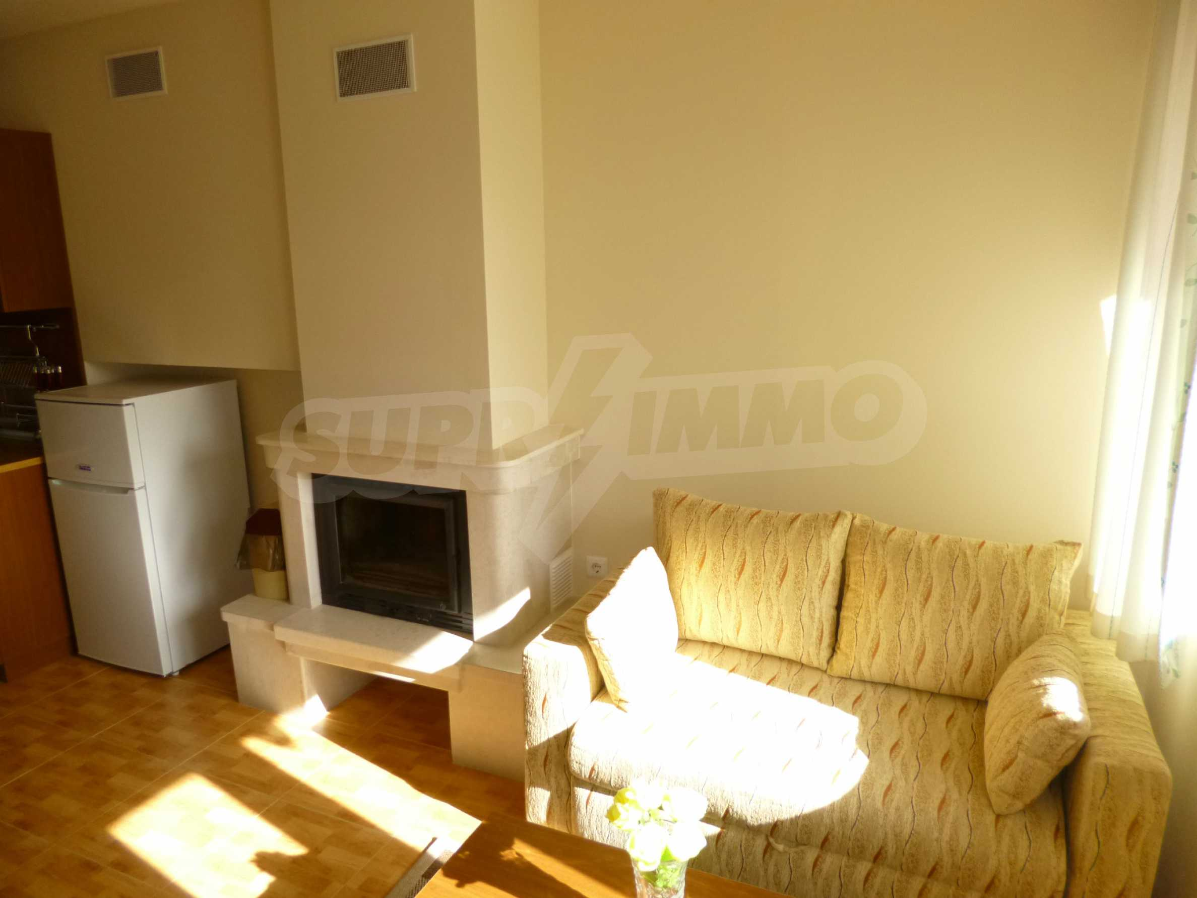 Elegant fully equipped and furnished 1-bedroom apartment in the gated complex Lucky Pamporovo 2