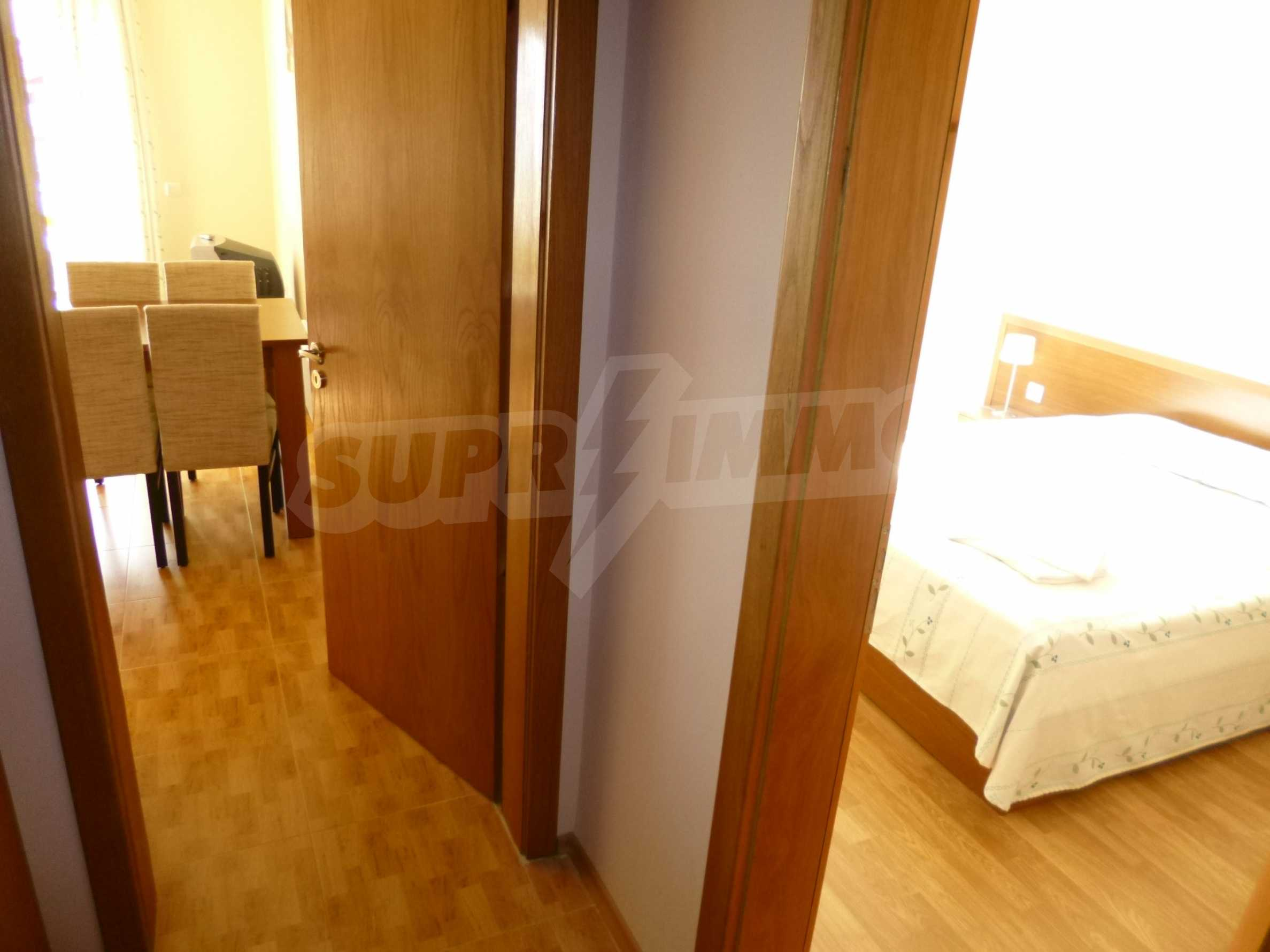Elegant fully equipped and furnished 1-bedroom apartment in the gated complex Lucky Pamporovo 5