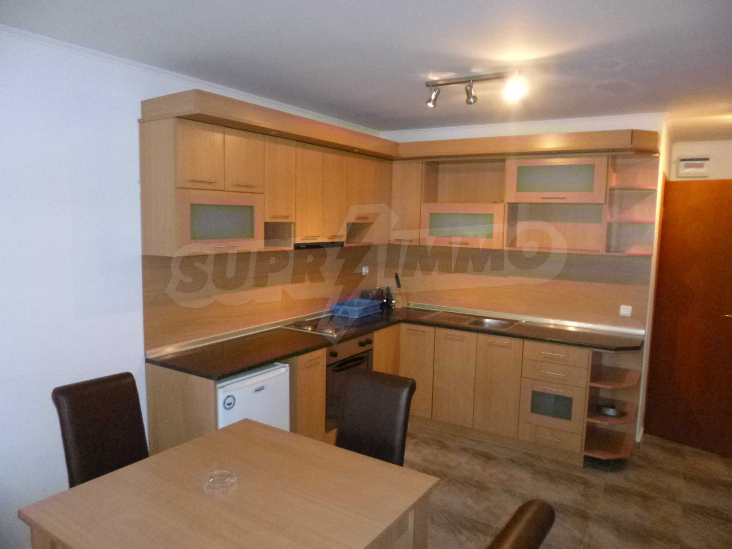 One-bedroom apartment in the gated complex Monastery 3 in Pamporovo 2