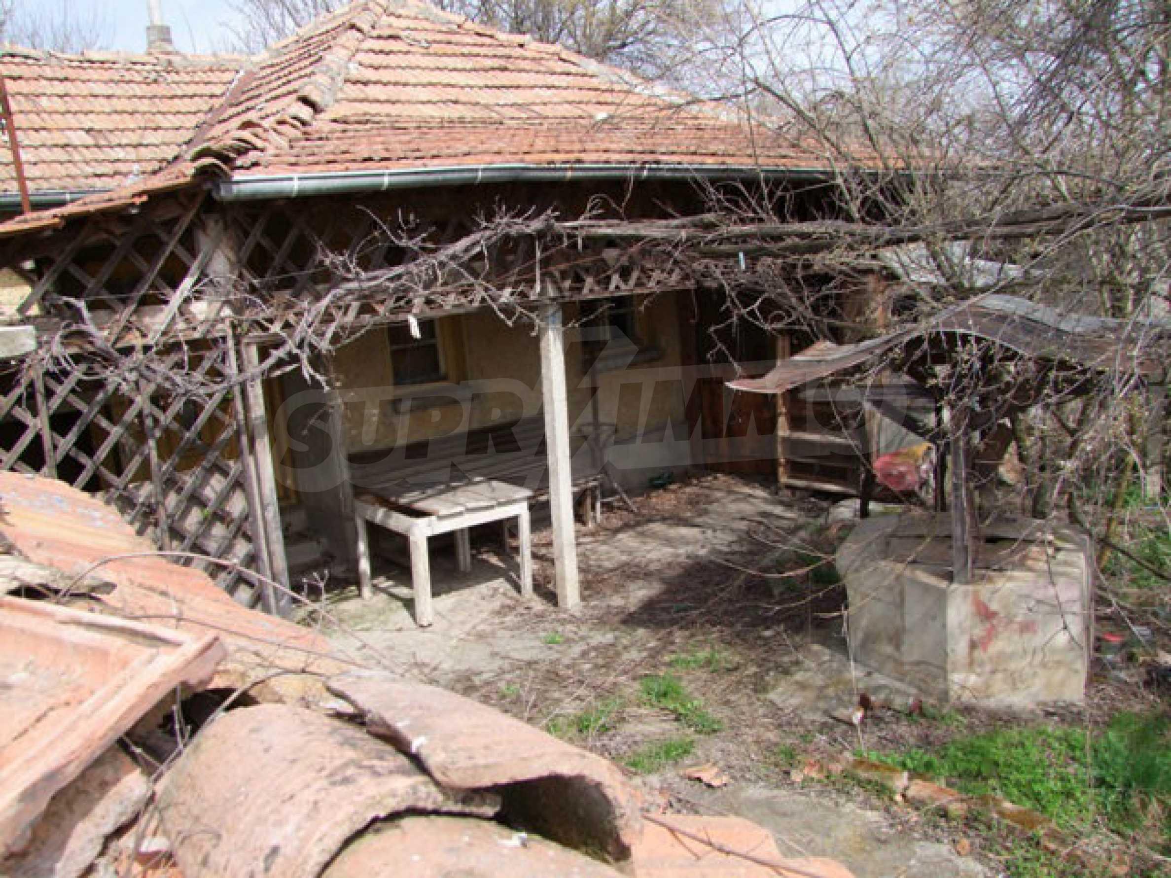 Backsteinhaus in einem Dorf, nur 100 Meter von der Hauptstraße entfernt 28