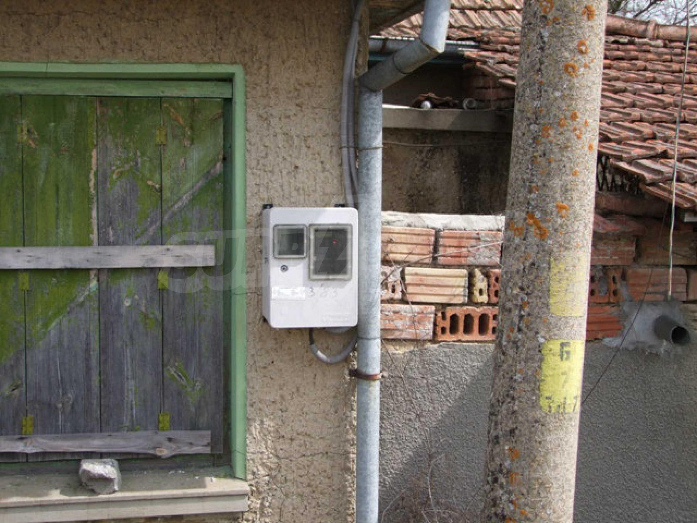 Backsteinhaus in einem Dorf, nur 100 Meter von der Hauptstraße entfernt 33