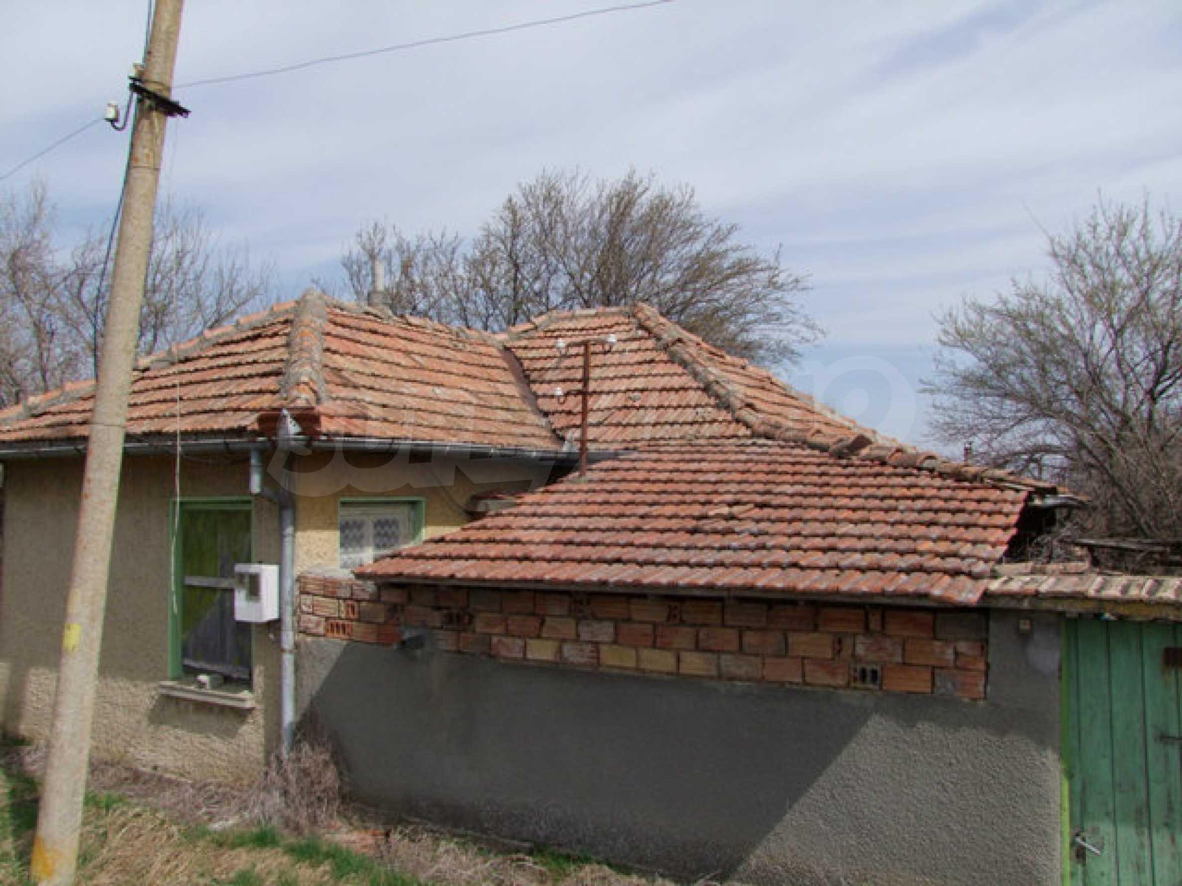 Backsteinhaus in einem Dorf, nur 100 Meter von der Hauptstraße entfernt 34