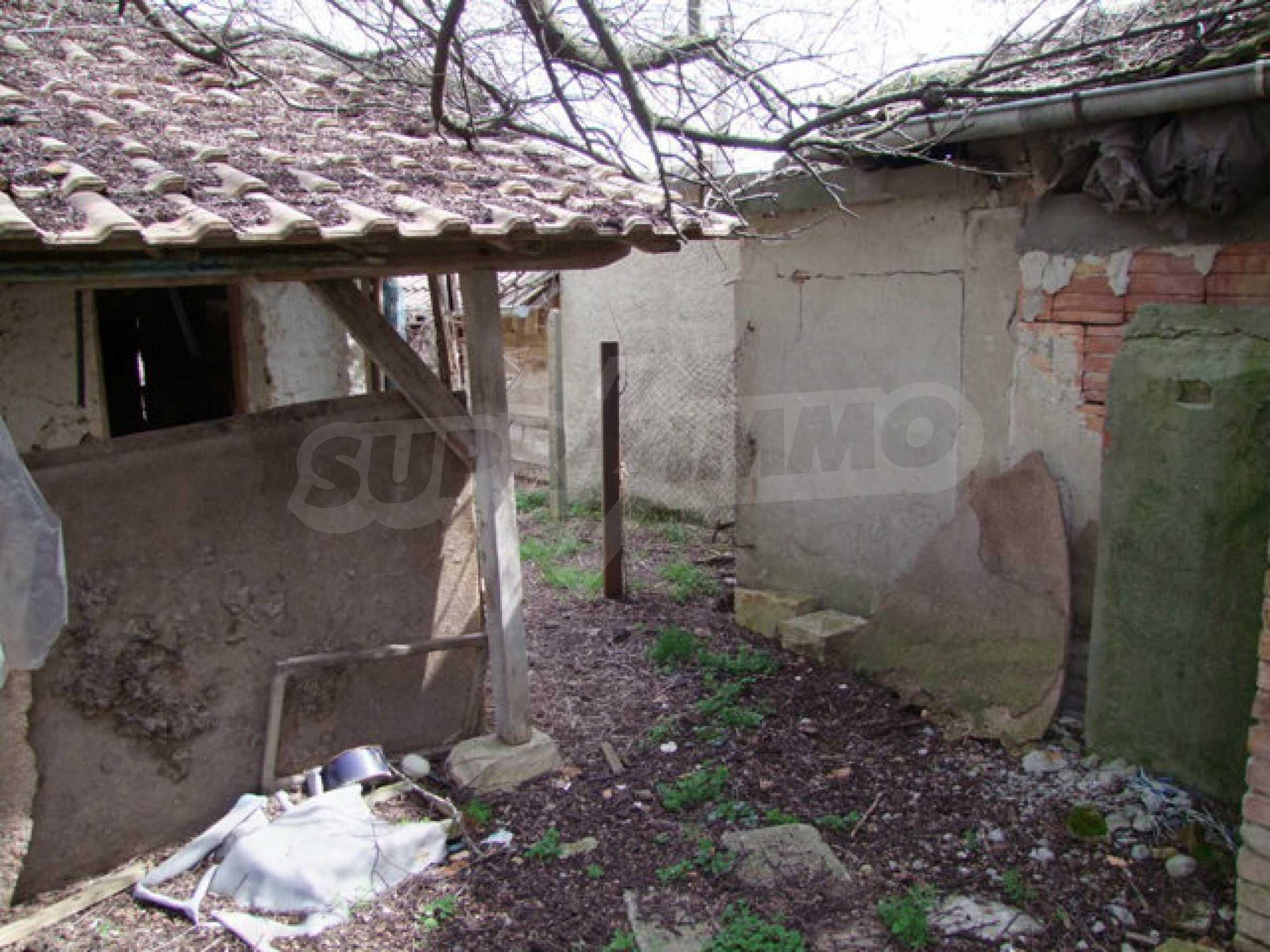Backsteinhaus in einem Dorf, nur 100 Meter von der Hauptstraße entfernt 41