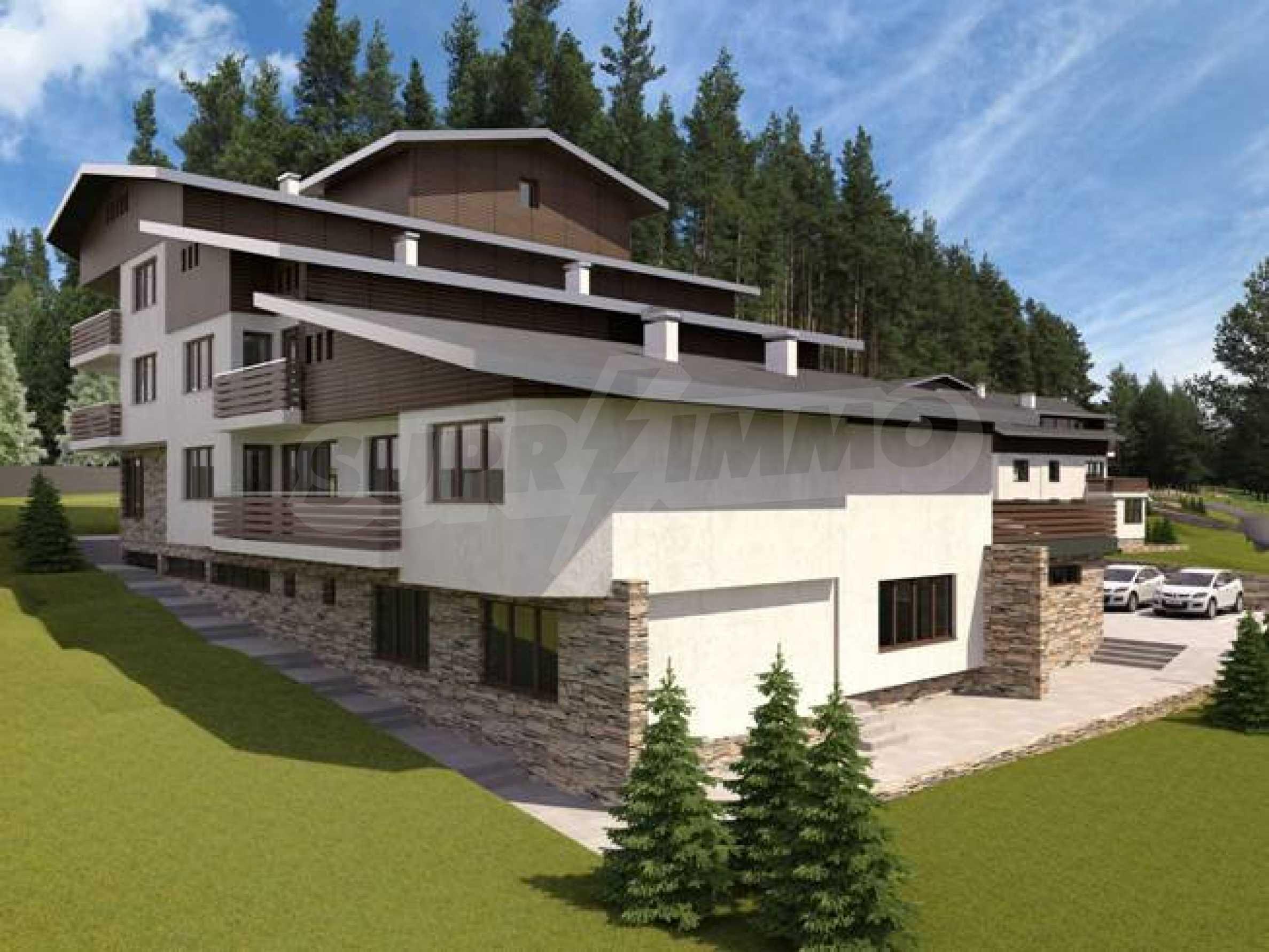 Investitionsprojekt im Skigebiet Borovets 1