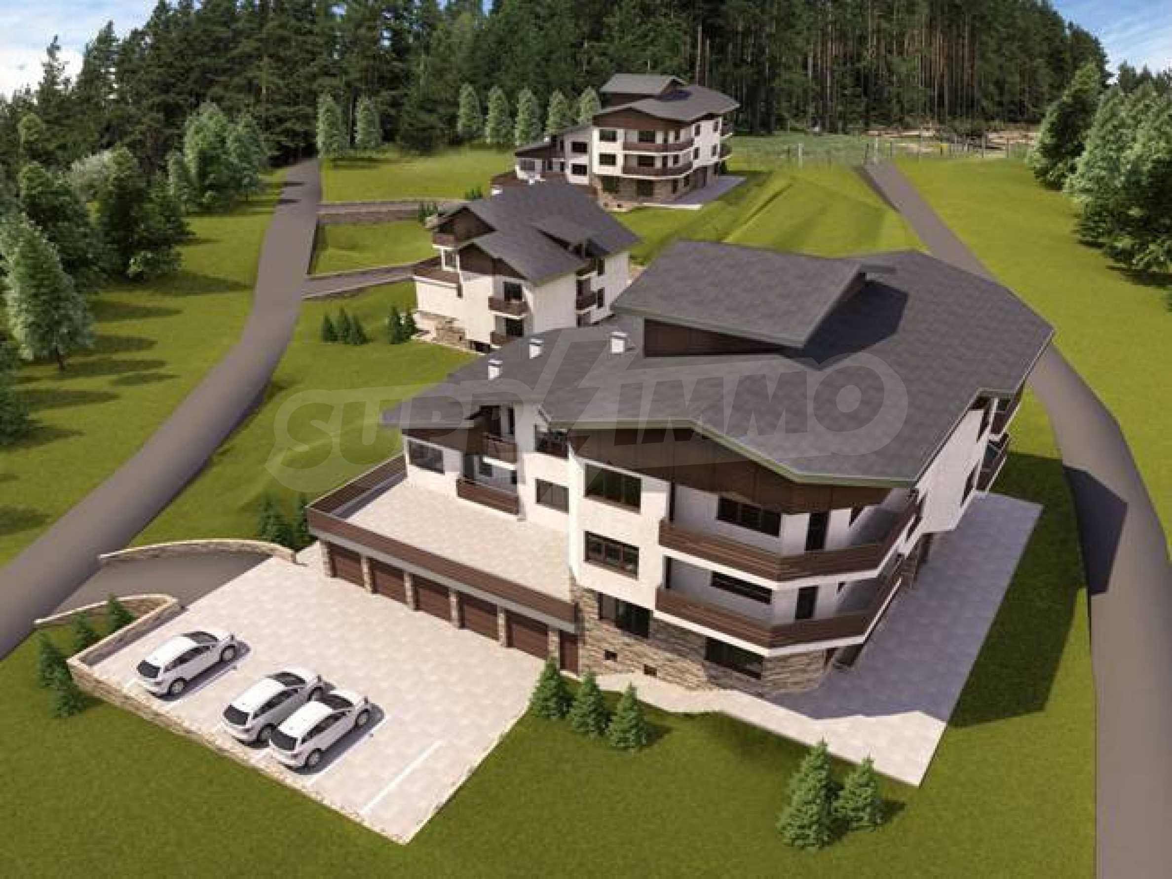 Investitionsprojekt im Skigebiet Borovets 3