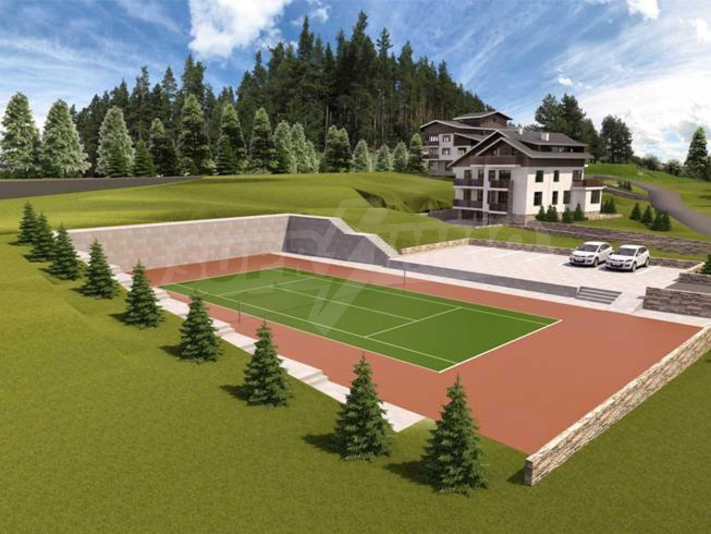 Investitionsprojekt im Skigebiet Borovets 4