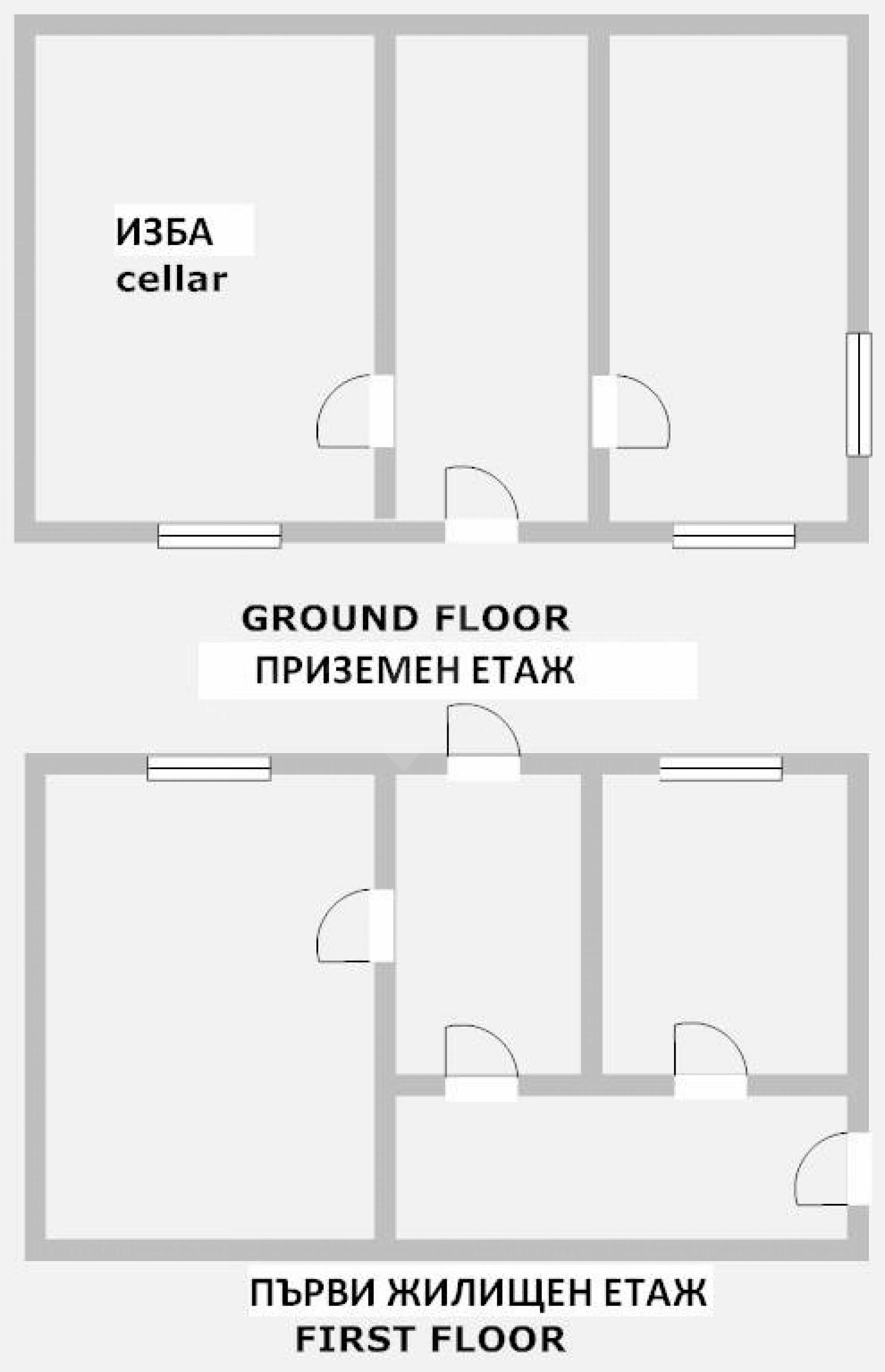 Haus zur Renovierung in der Gegend von Sevlievo und Lovech 10