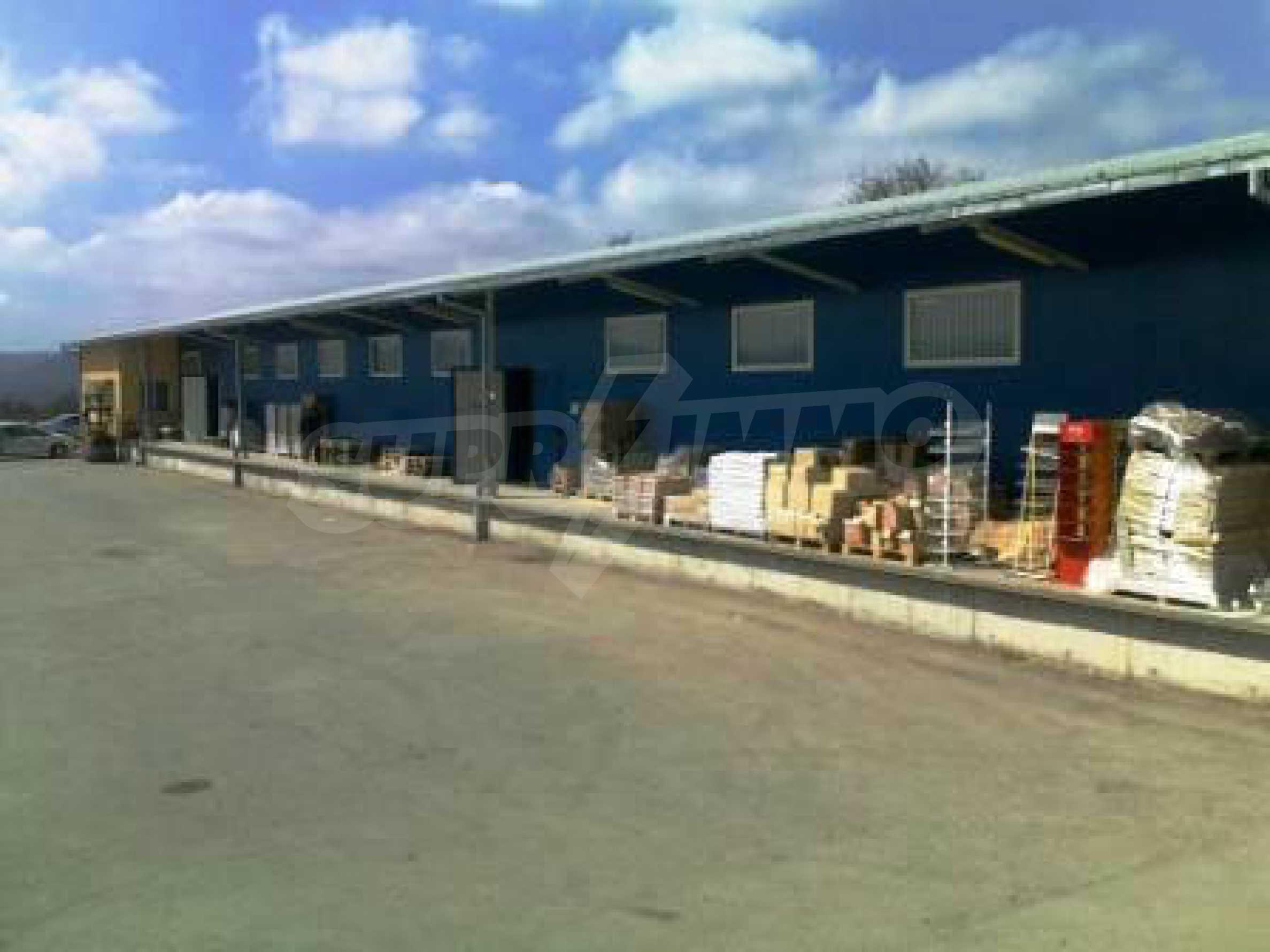 Handels- und Lagerbasis an der Hauptstraße Ruse - Svilengrad