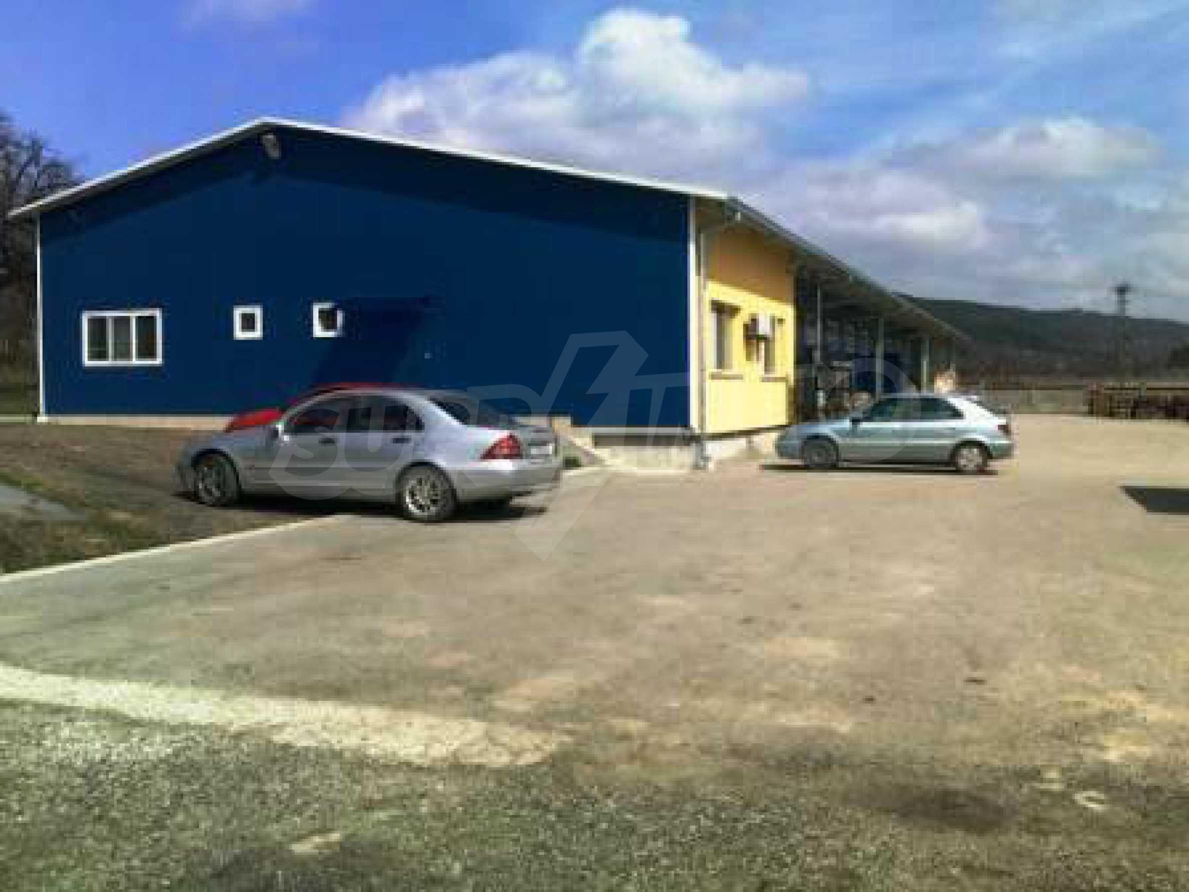 Handels- und Lagerbasis an der Hauptstraße Ruse - Svilengrad 4