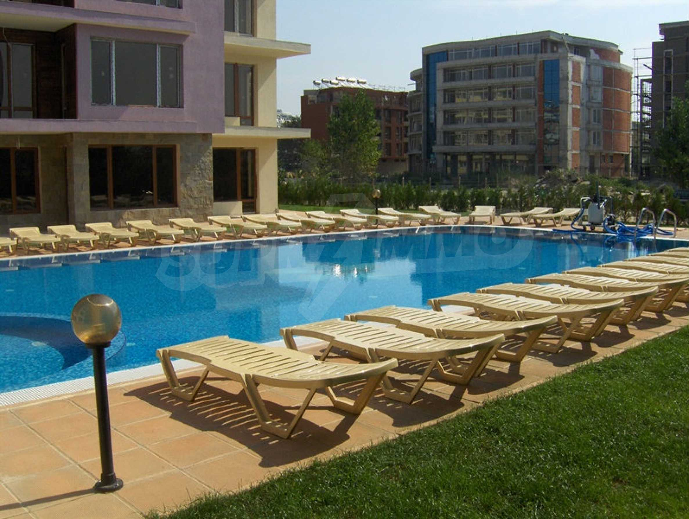 One-bedroom apartment in Magnolia Garden complex in Sunny Beach