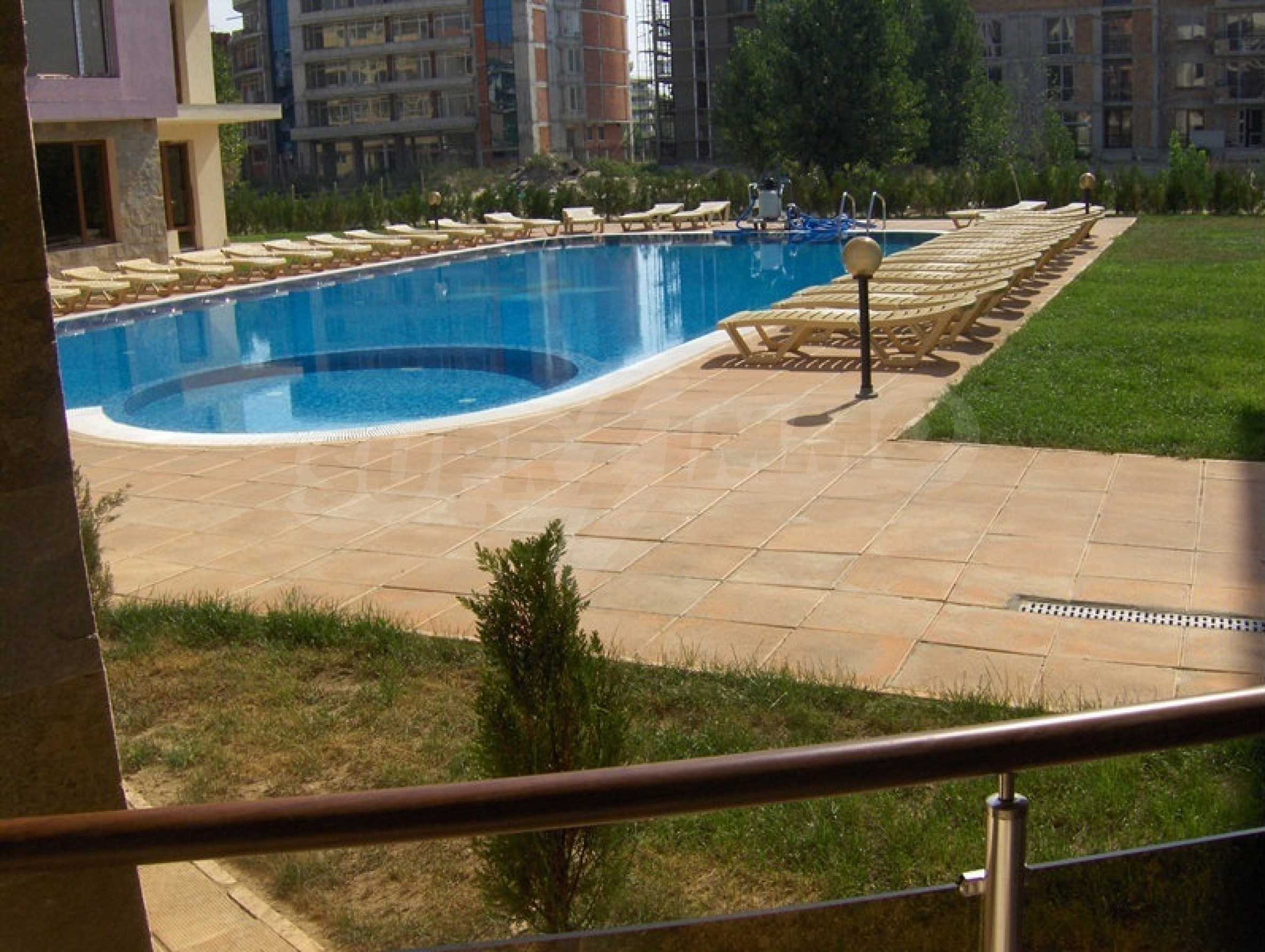 One-bedroom apartment in Magnolia Garden complex in Sunny Beach 11
