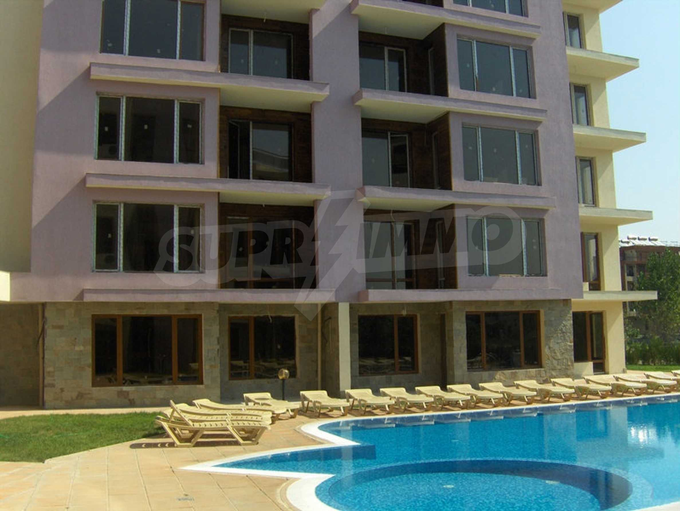 One-bedroom apartment in Magnolia Garden complex in Sunny Beach 1