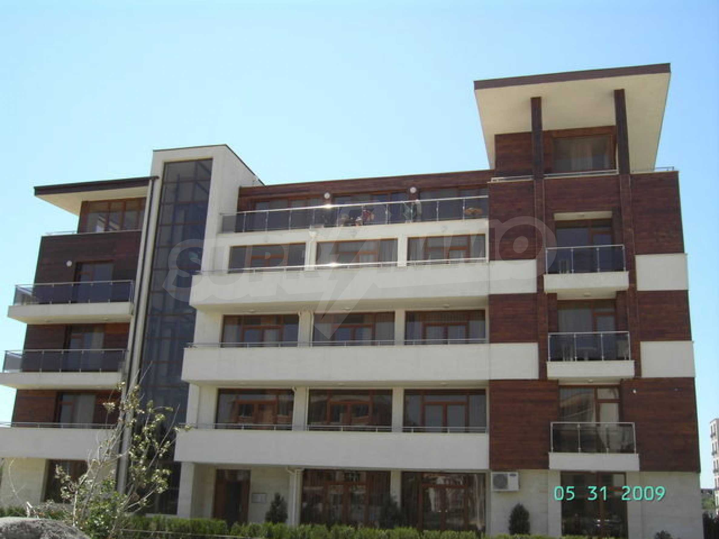 One-bedroom apartment in Eden Apartments complex in Sunny Beach 1