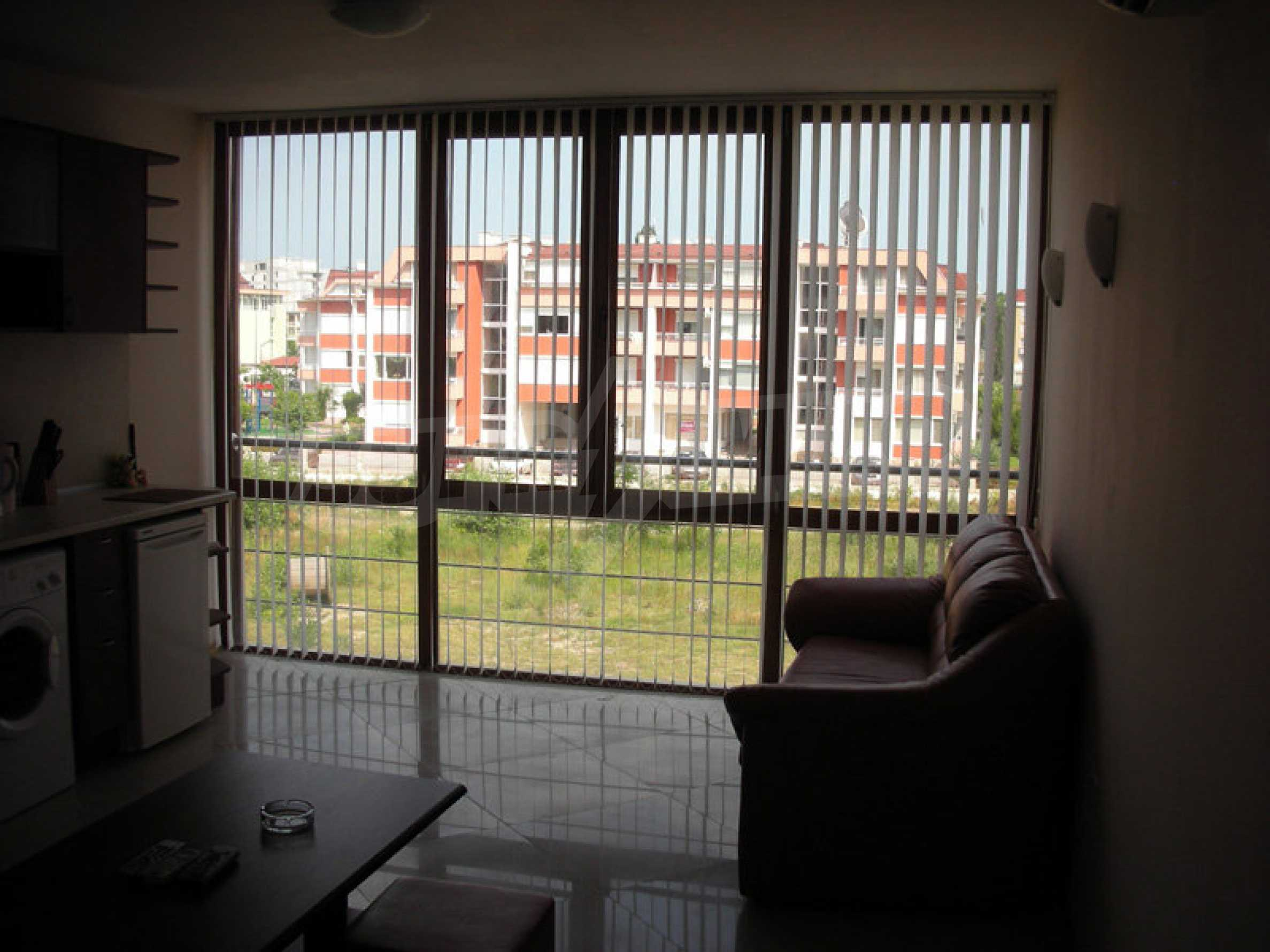 One-bedroom apartment in Eden Apartments complex in Sunny Beach 20