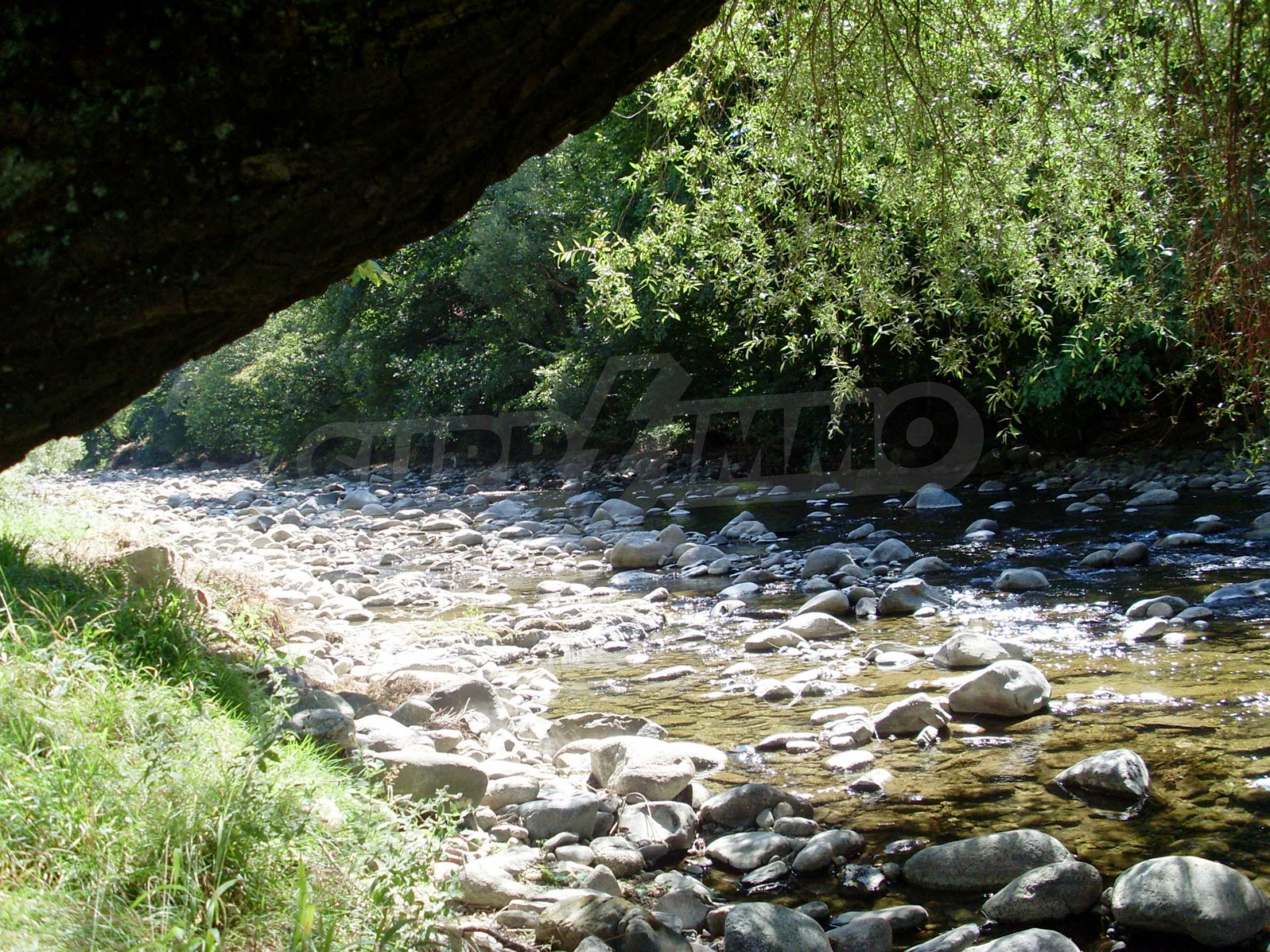 Geregeltes Grundstück in der Nähe des Flusses in Ribaritsa 3