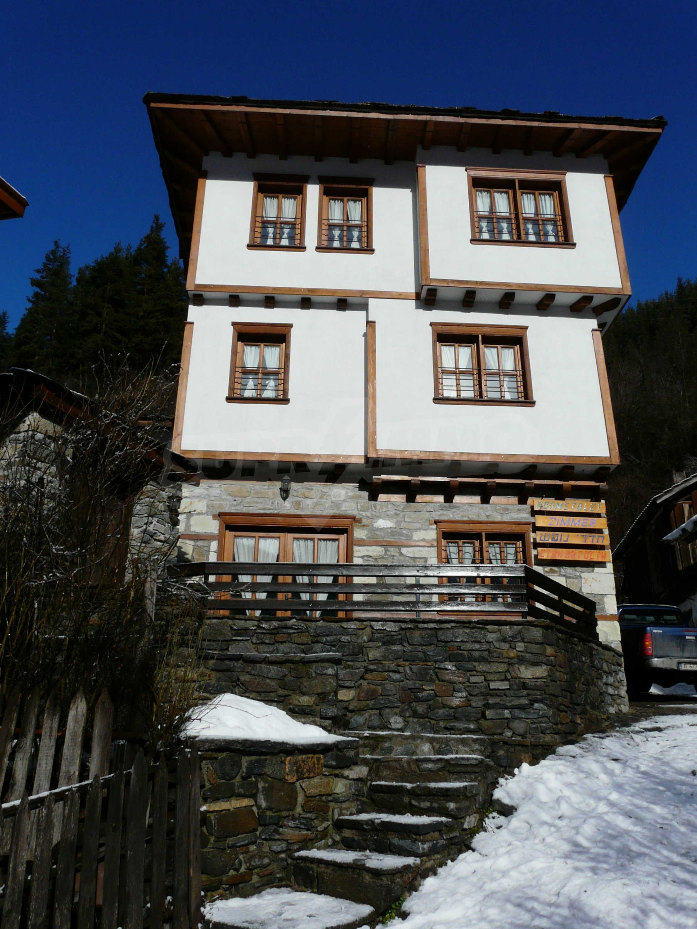 Restored furnished Rhodope house near Pamporovo and Smolyan