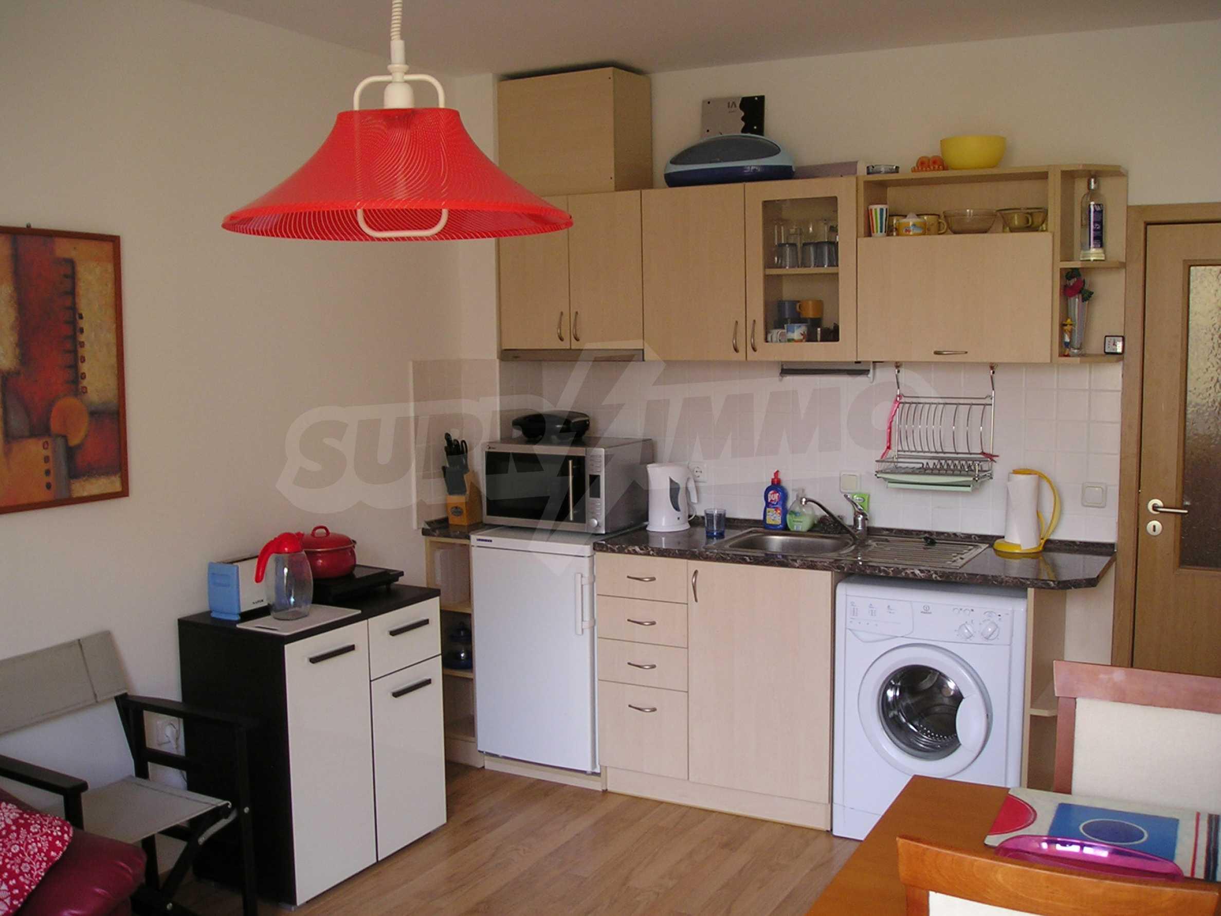 Apartment mit einem Schlafzimmer im Komplex mit Meerblick in Sveti Vlas